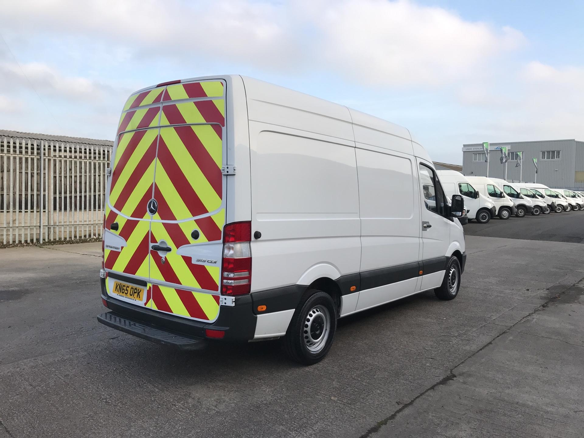 2015 Mercedes-Benz Sprinter  313CDI MWB HIGH ROOF 130PS EURO 5  *VALUE RANGE VEHICLE - CONDITION REFLECTED IN PRICE* (KN65OPK) Image 3