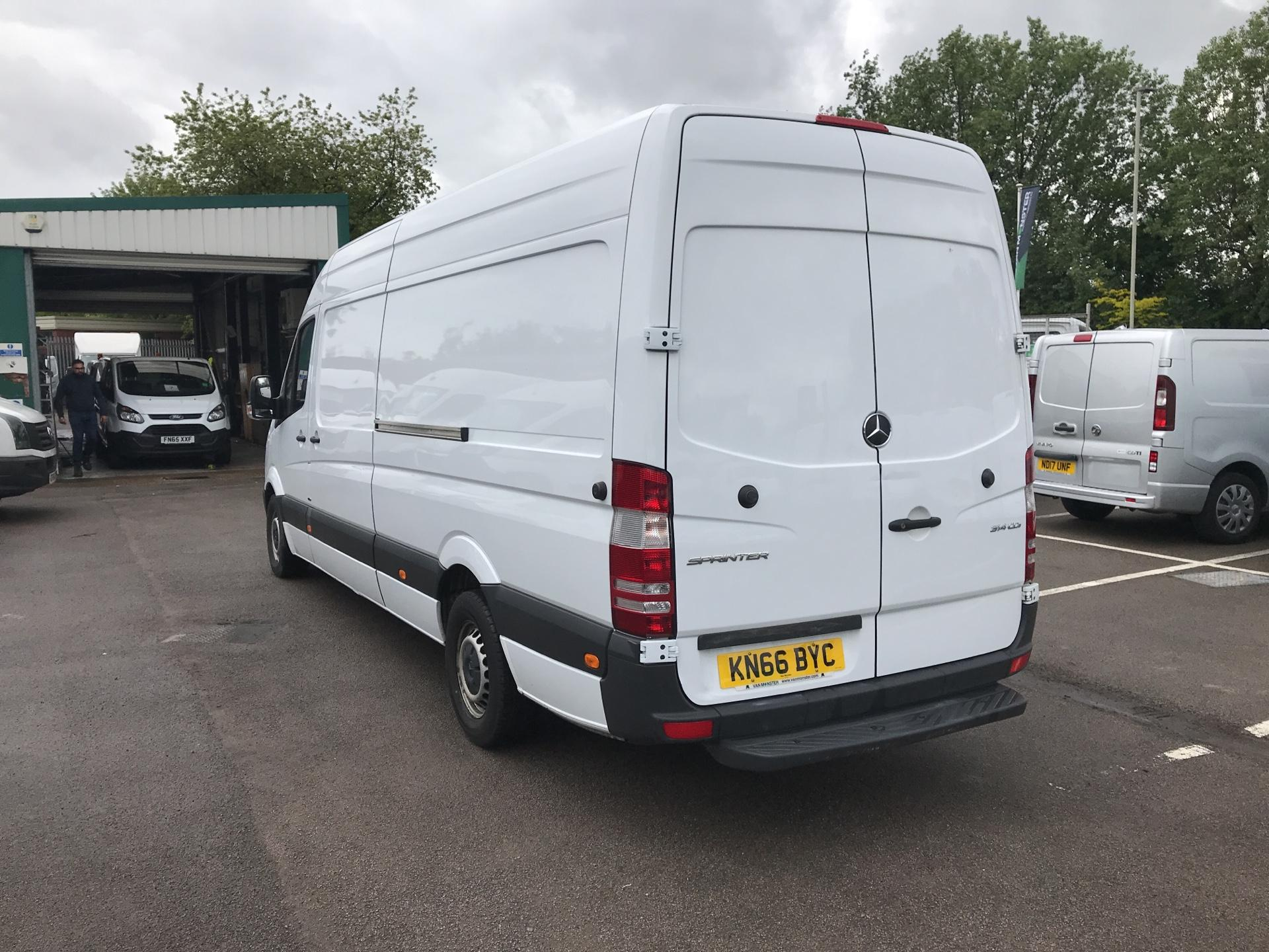 2016 Mercedes-Benz Sprinter 314CDI LWB HIGH ROOF 140PS EURO 6 (KN66BYC) Image 10
