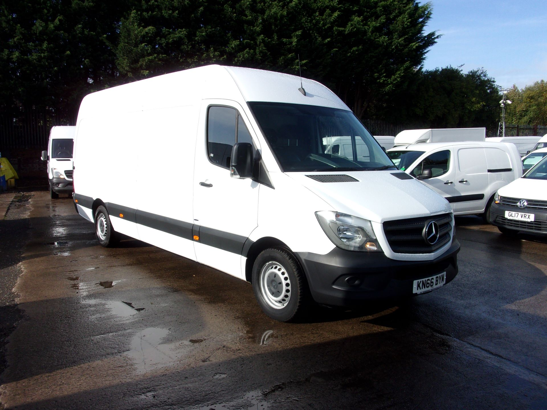 2016 Mercedes-Benz Sprinter 314 CDI LWB HIGH ROOF EURO 6 (KN66BYM)