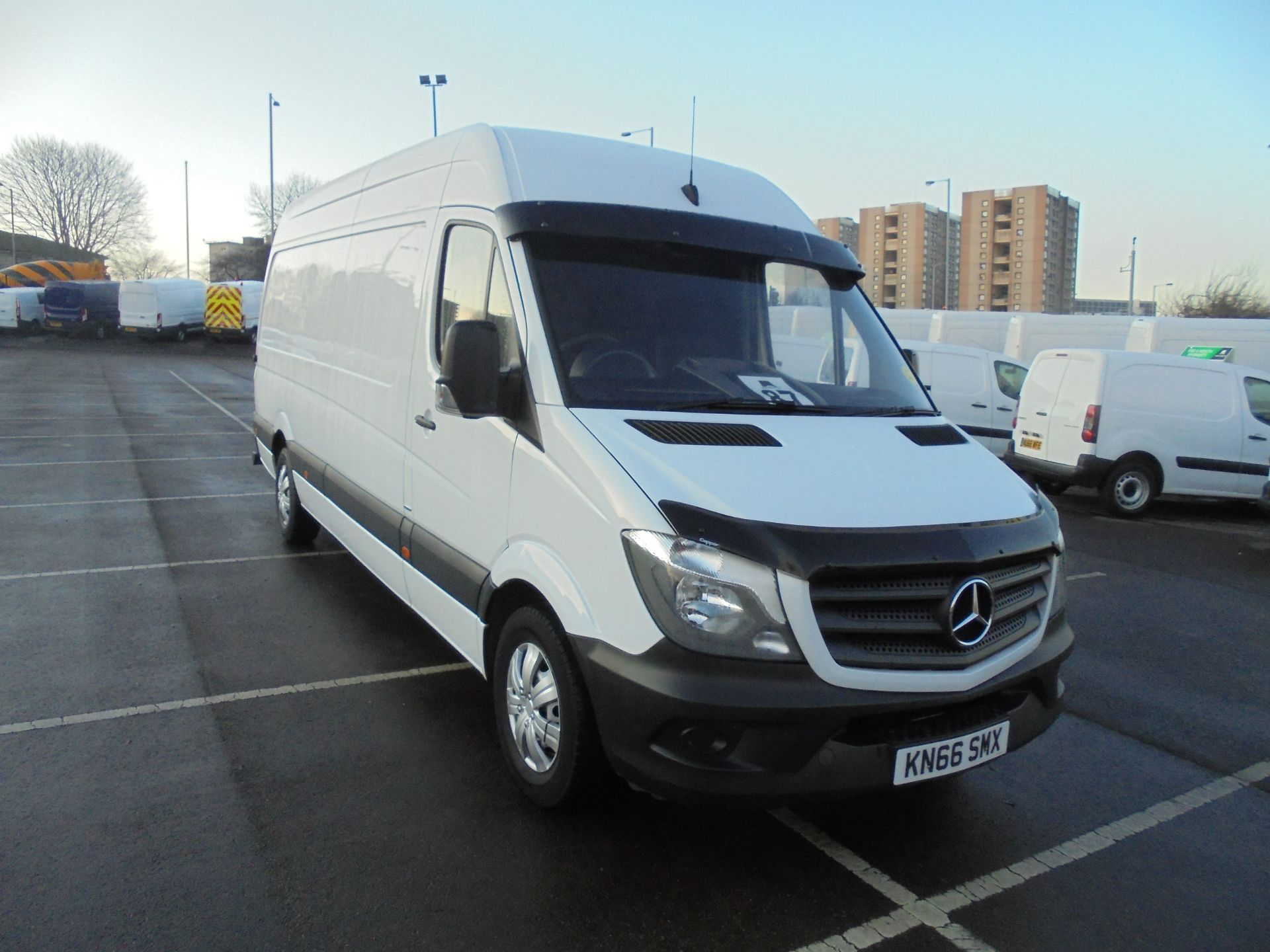 2016 Mercedes-Benz Sprinter 314 CDI 3.5T High Roof Van (KN66SMX)