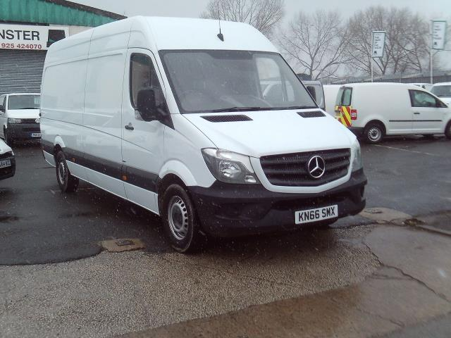 2016 Mercedes-Benz Sprinter 314cdi lwb High Roof 140ps New Shape (KN66SMX)