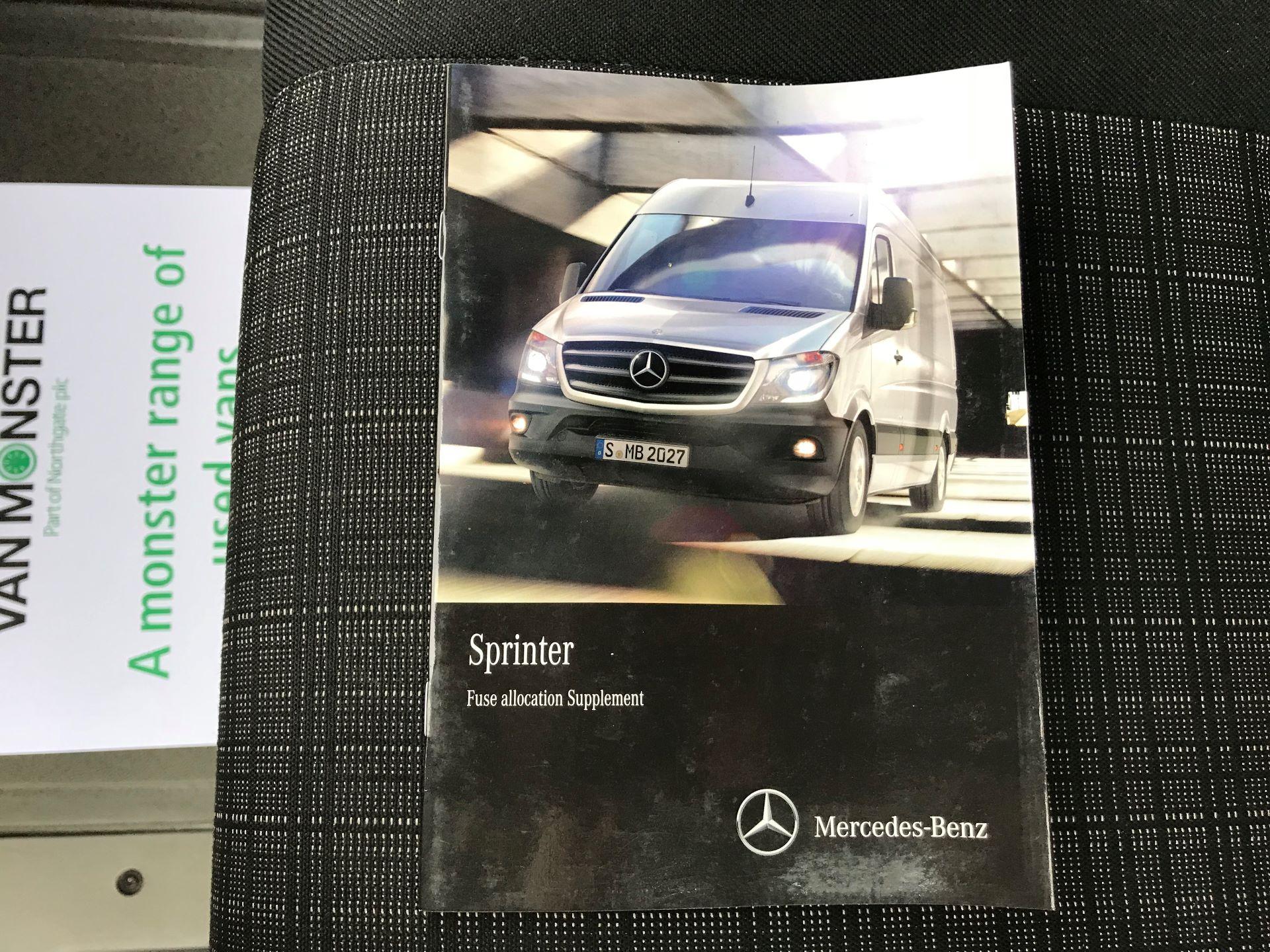2016 Mercedes-Benz Sprinter 314 MWB H/R VAN EURO 6 (KN66SPU) Image 41