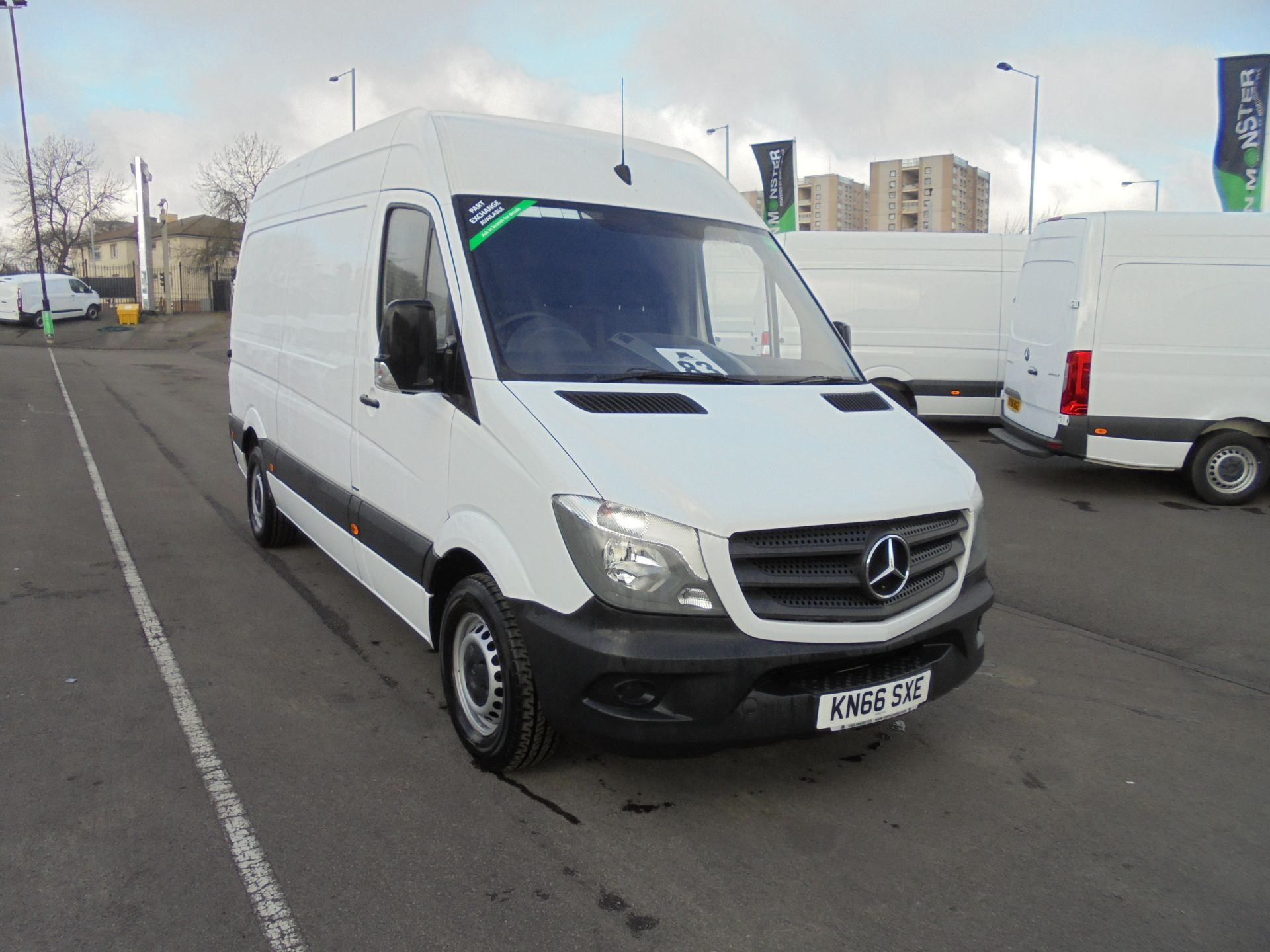 2016 Mercedes-Benz Sprinter 314 CDI 3.5T High Roof MWB Van (KN66SXE)