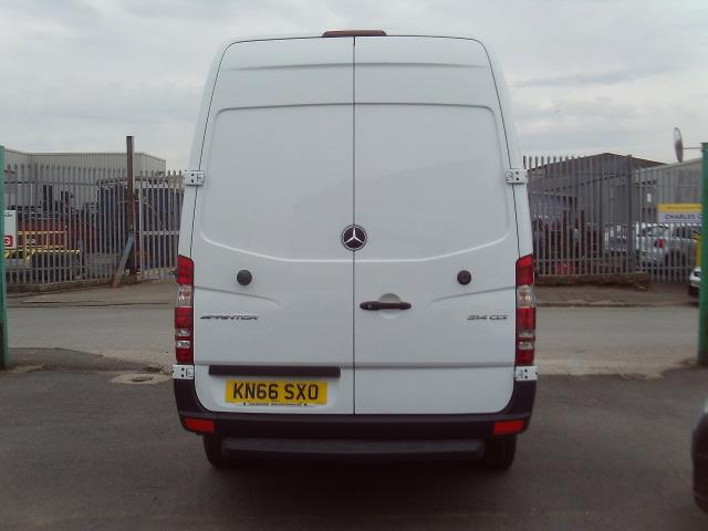 2016 Mercedes-Benz Sprinter 314cdi mwb High Roof 140ps New Shape (KN66SXO) Image 16