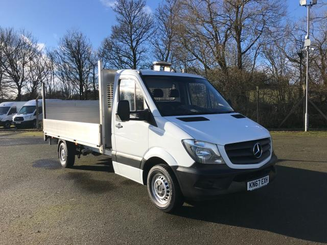 2017 Mercedes-Benz Sprinter LWB DROP SIDE EURO 6 WITH TAIL-LIFT (KN67EXH)
