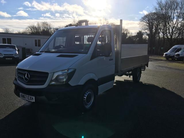 2017 Mercedes-Benz Sprinter LWB DROP SIDE EURO 6 WITH TAIL-LIFT (KN67EXH) Image 3