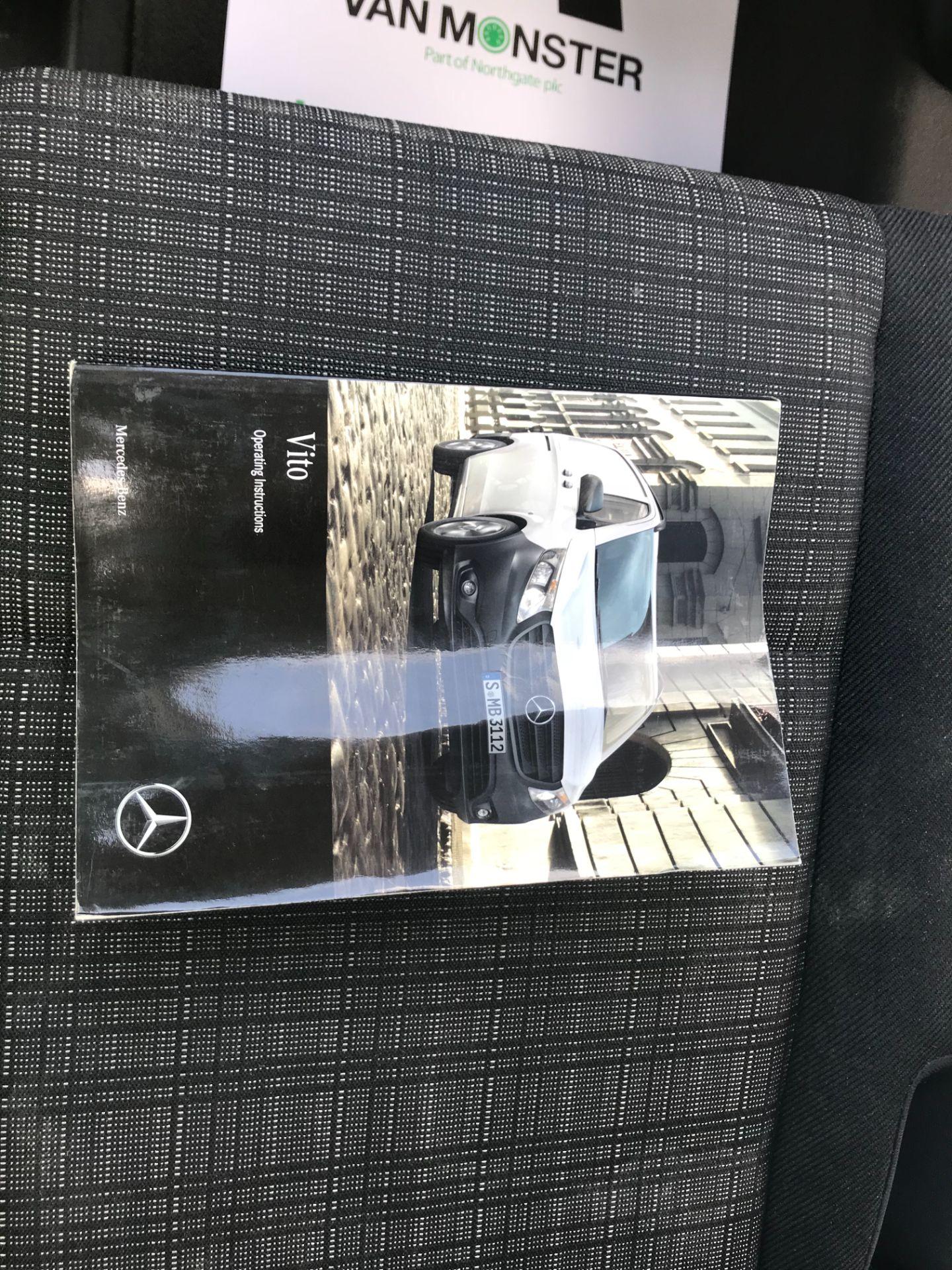 2017 Mercedes-Benz Vito LONG 111CDI VAN EURO 6  (KN67UUV) Image 48