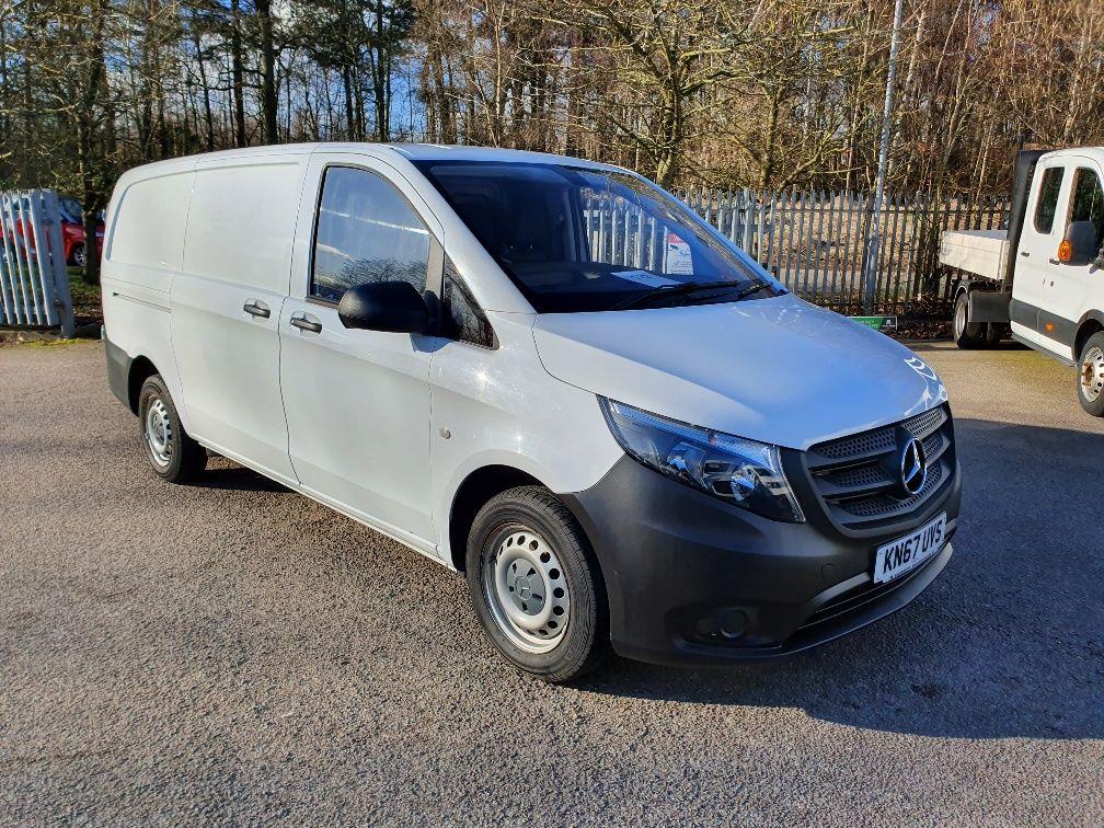 2017 Mercedes-Benz Vito 111Cdi Van (KN67UVS)