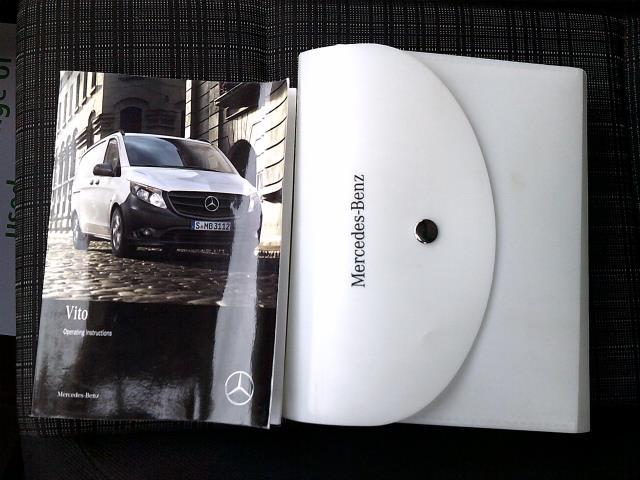 2017 Mercedes-Benz Vito 111Cdi Long Van (KN67UYY) Image 23