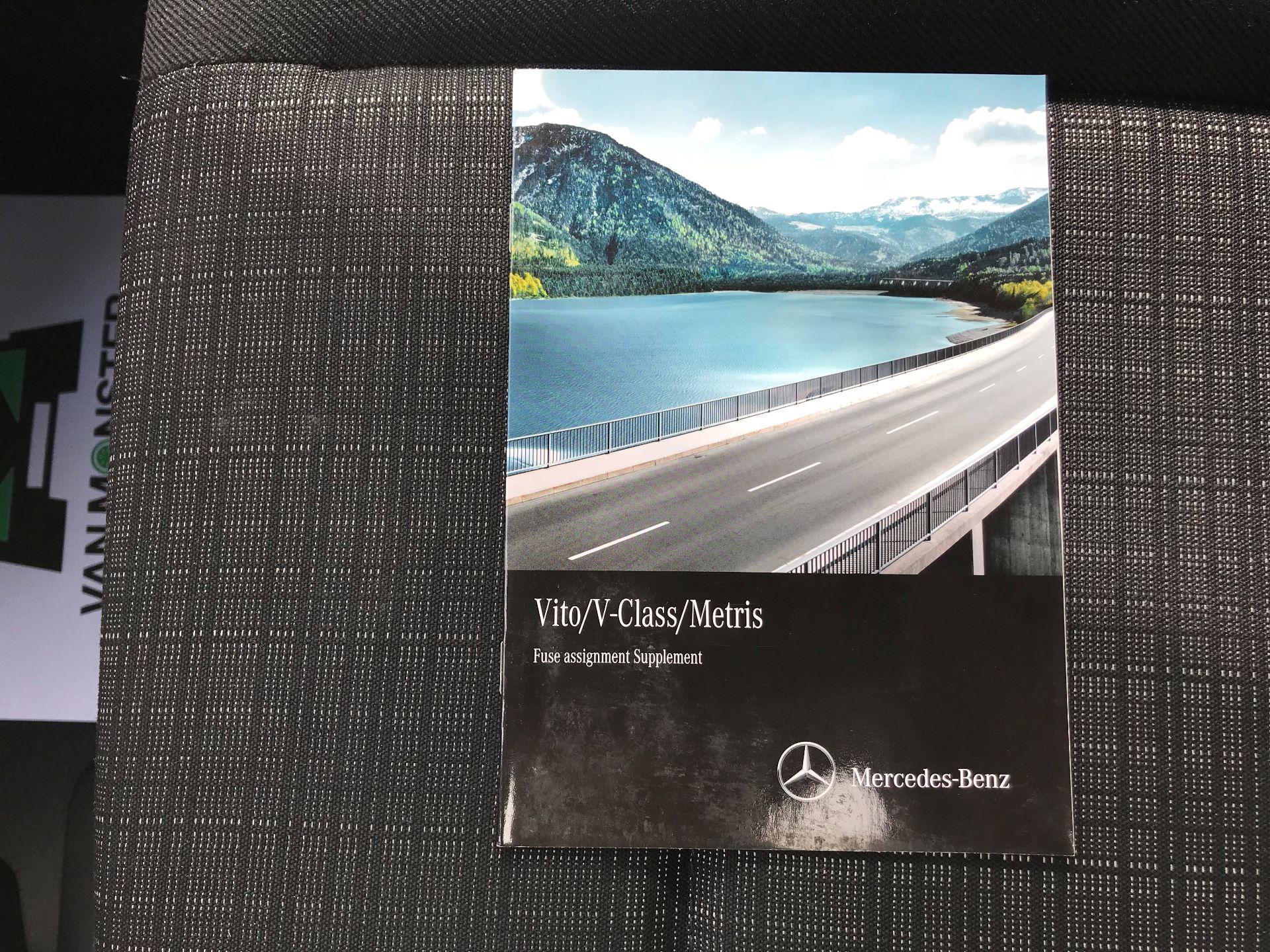 2017 Mercedes-Benz Vito LONG 111CDI VAN EURO 6  (KN67UZL) Image 41