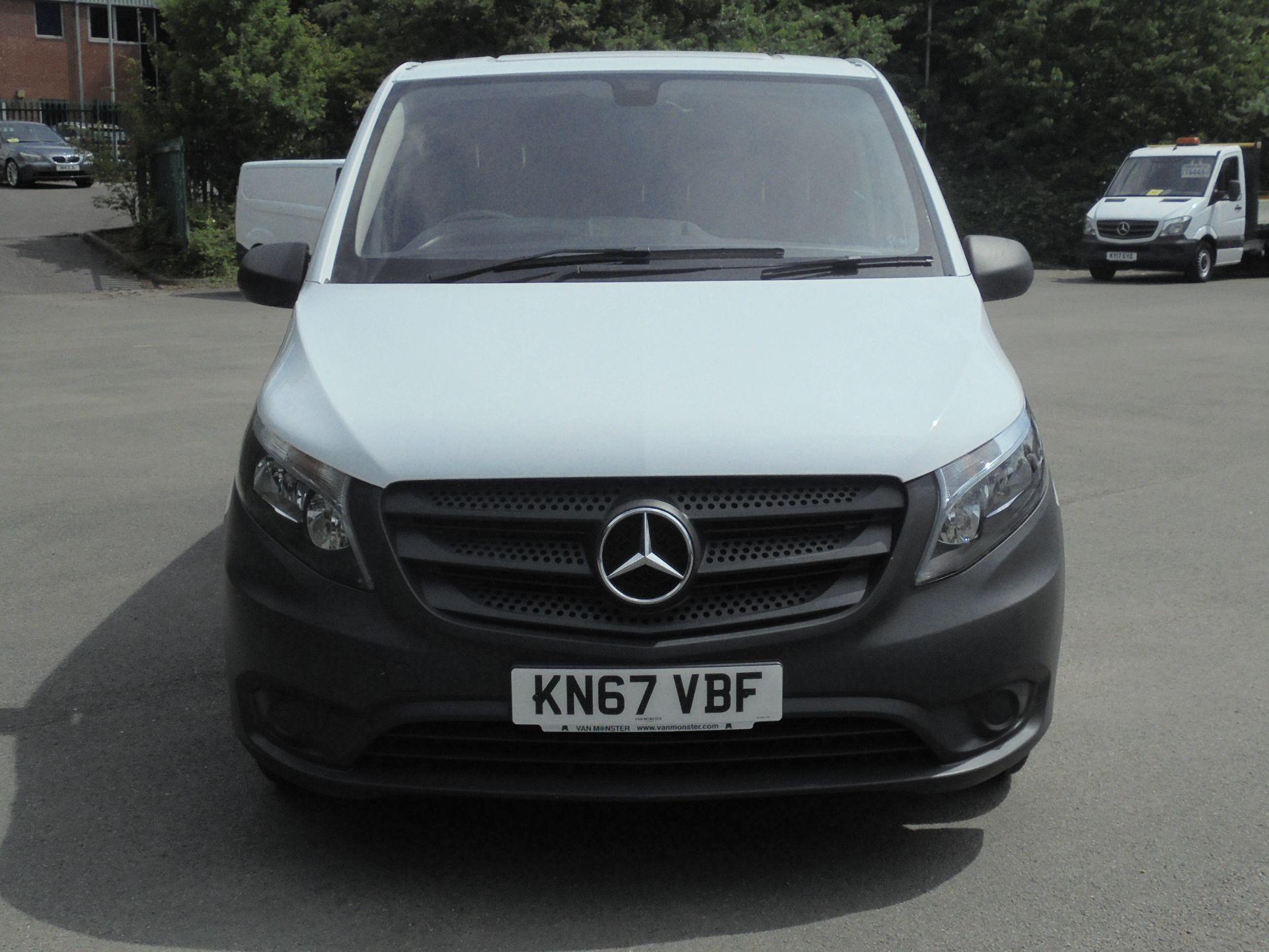 2017 Mercedes-Benz Vito 111Cdi Van (KN67VBF) Image 2