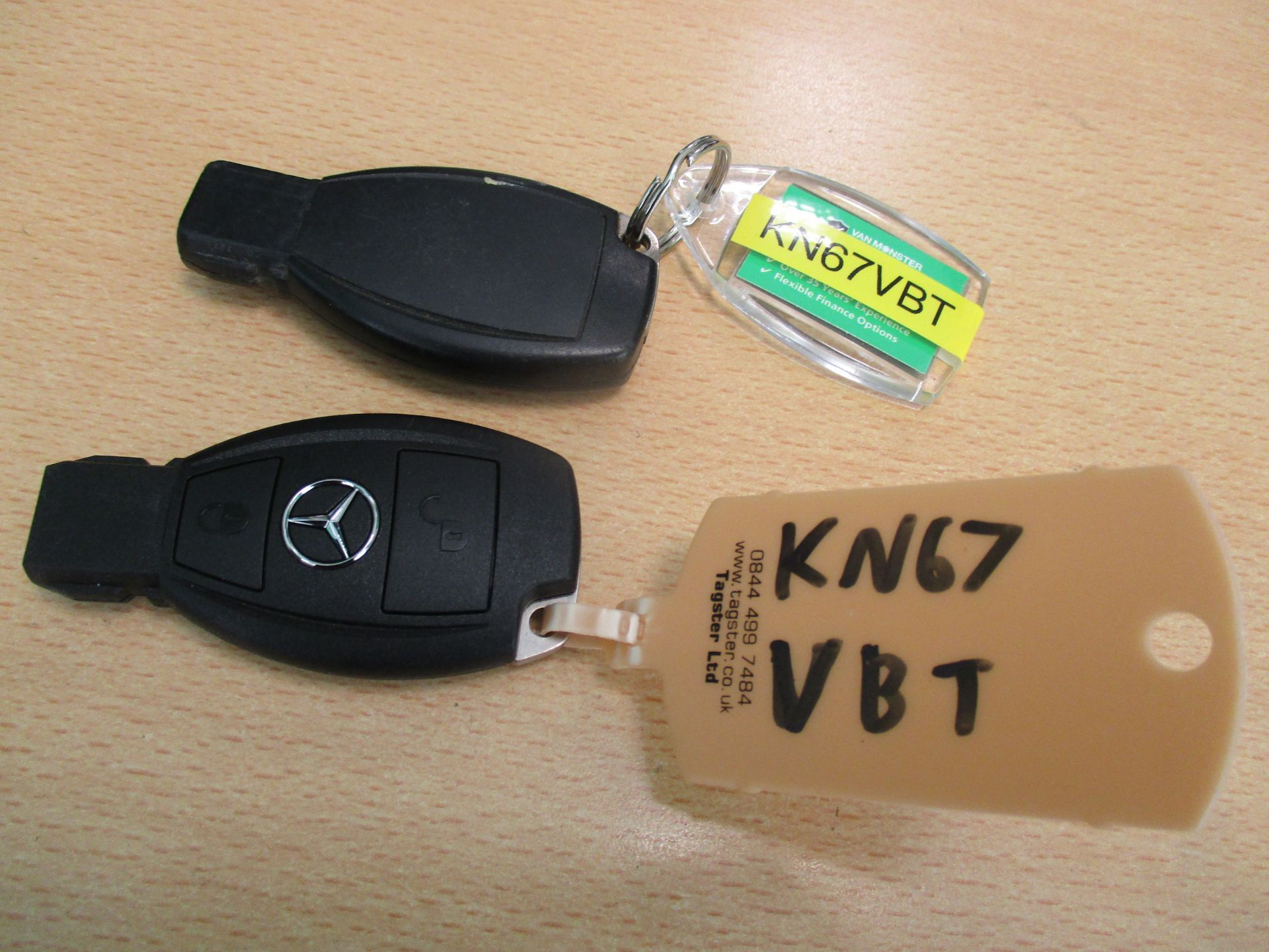 2017 Mercedes-Benz Sprinter 314 LWB H/R VAN EURO 6 (KN67VBT) Image 23