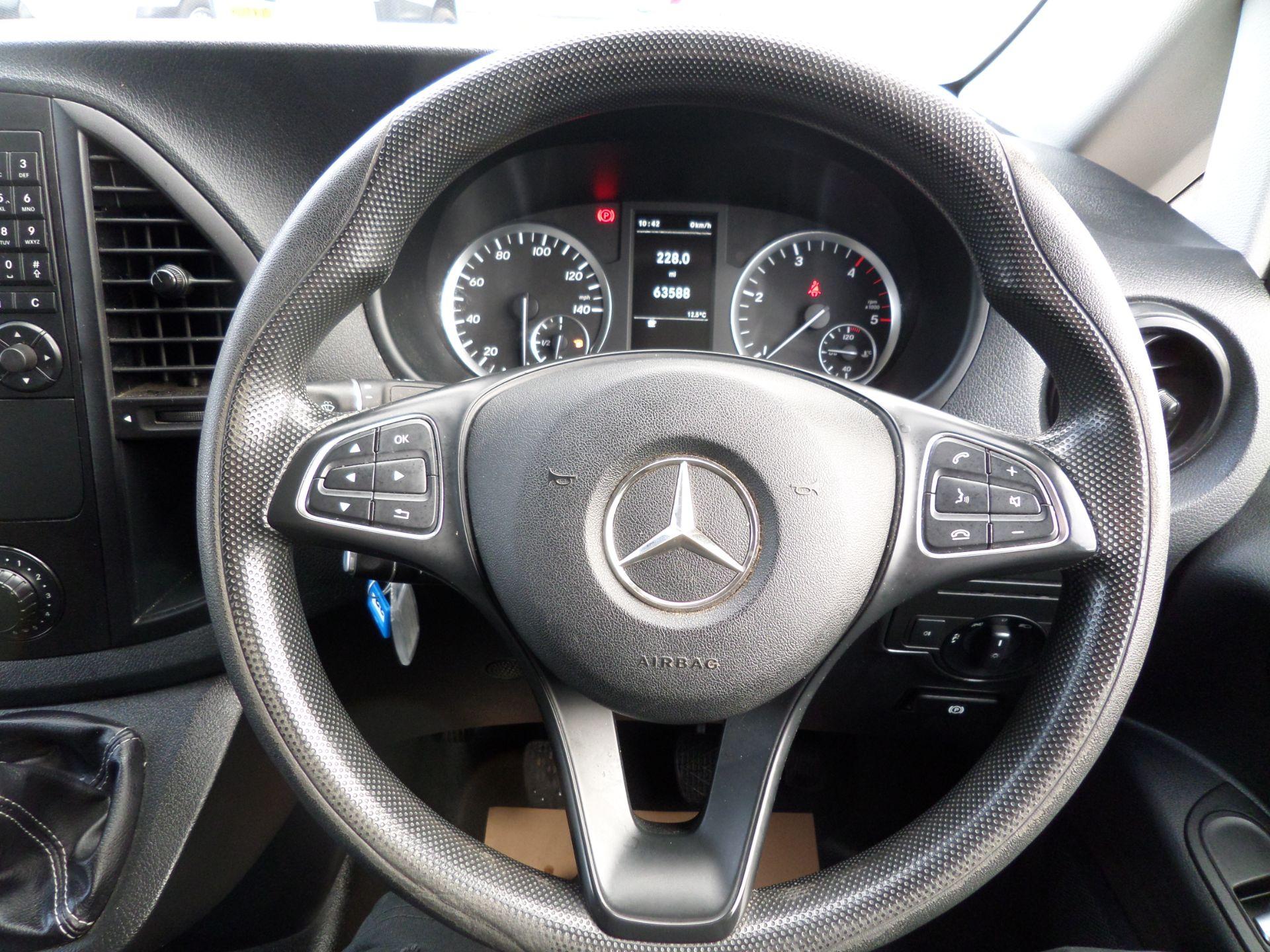 2017 Mercedes-Benz Vito 111Cdi Van LWB Euro 6 (KN67VDK) Image 14