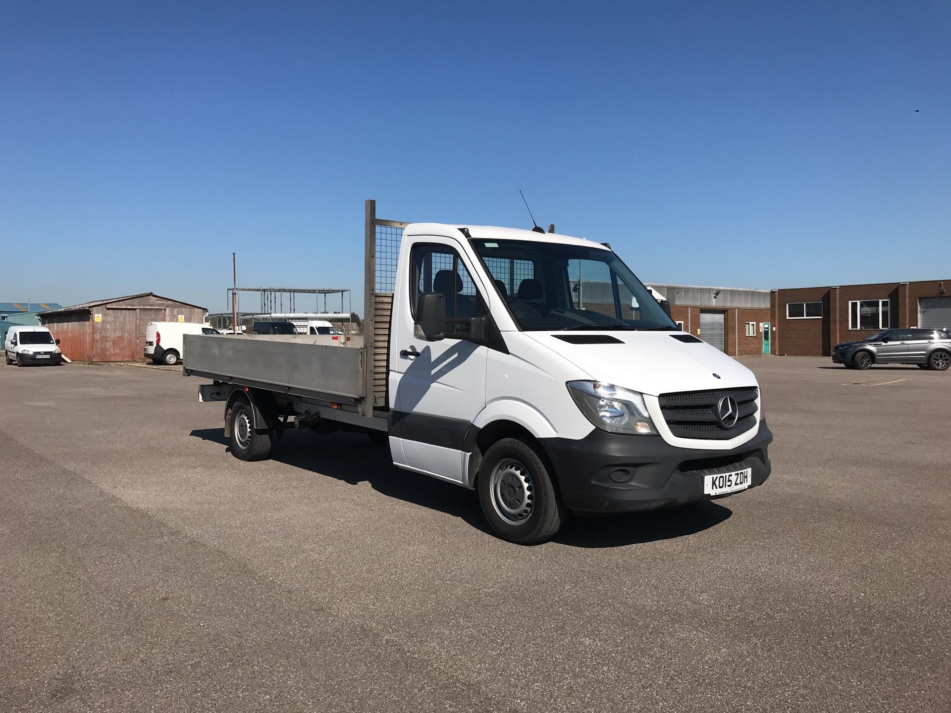 2015 Mercedes-Benz Sprinter 316 LWB DROPSIDE EURO 5. AIR CON (KO15ZDH)