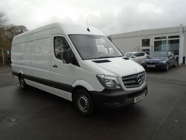 2015 Mercedes-Benz Sprinter 313 CDI LWB 3.5t High Roof Van (KO15ZFG)