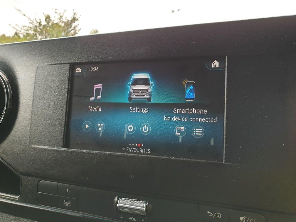 2018 Mercedes-Benz Sprinter 3.5T H2 Van EURO 6 (KO18HMV) Image 27