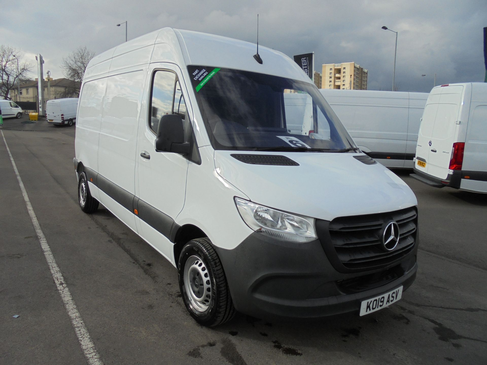 2019 Mercedes-Benz Sprinter 314 CDI 3.5T 140Ps MWB Van
