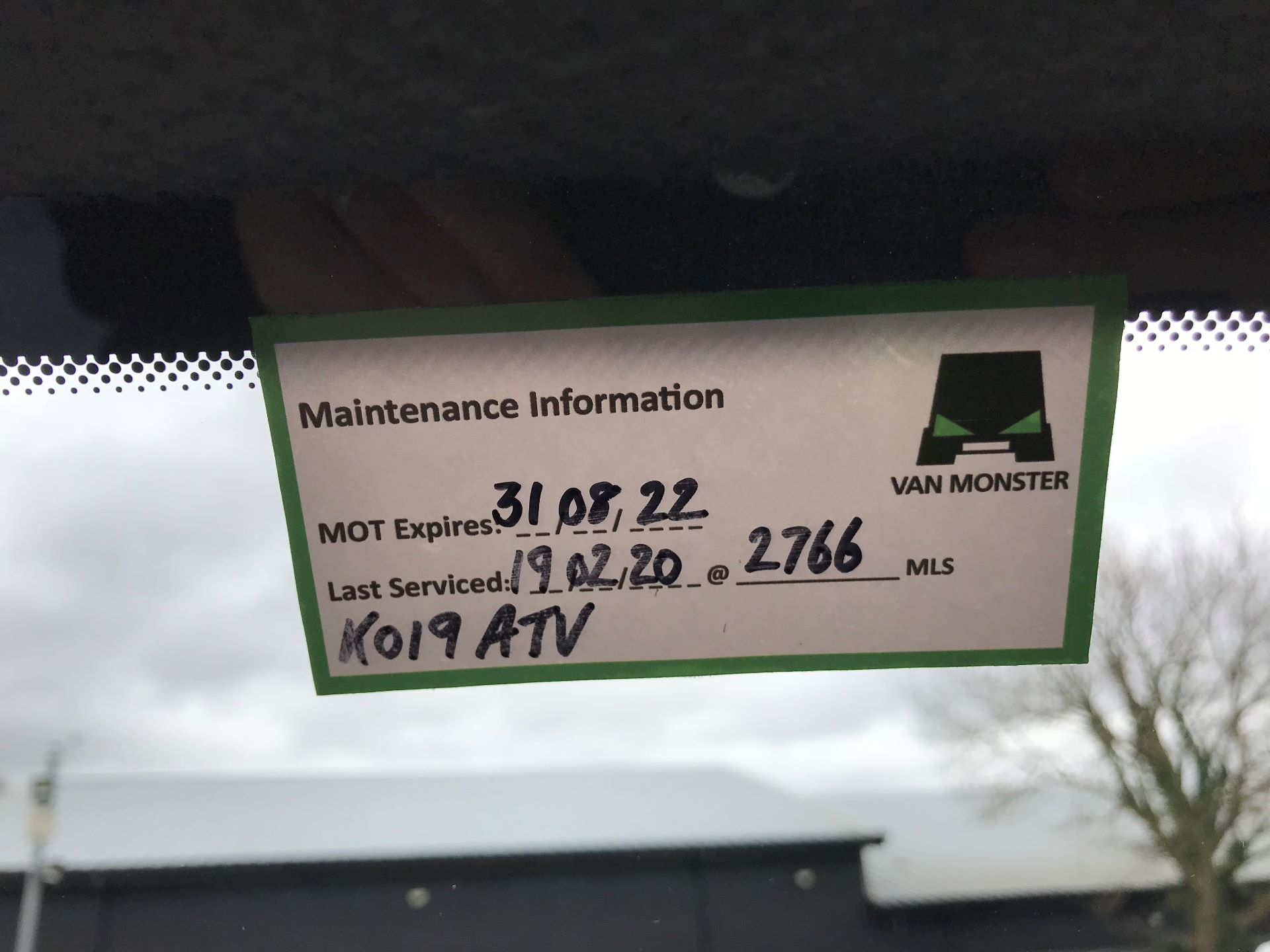 2019 Mercedes-Benz Sprinter 3.5T L2 H2 FWD Van (KO19ATV) Image 32