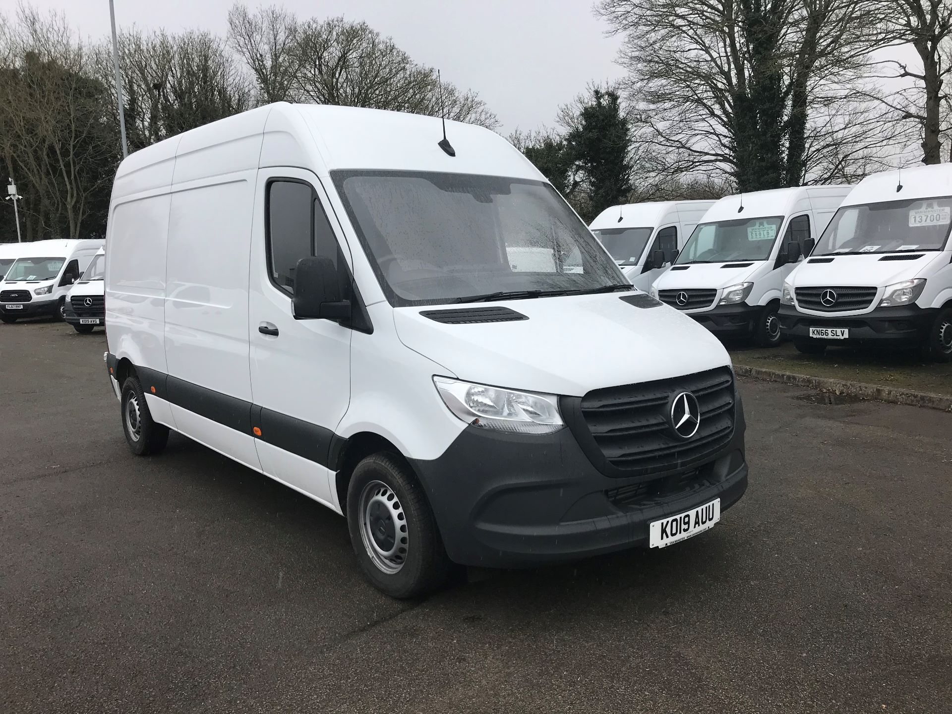 2019 Mercedes-Benz Sprinter 314 CDI MWB 3.5t 143PS EURO 6 (KO19AUU)