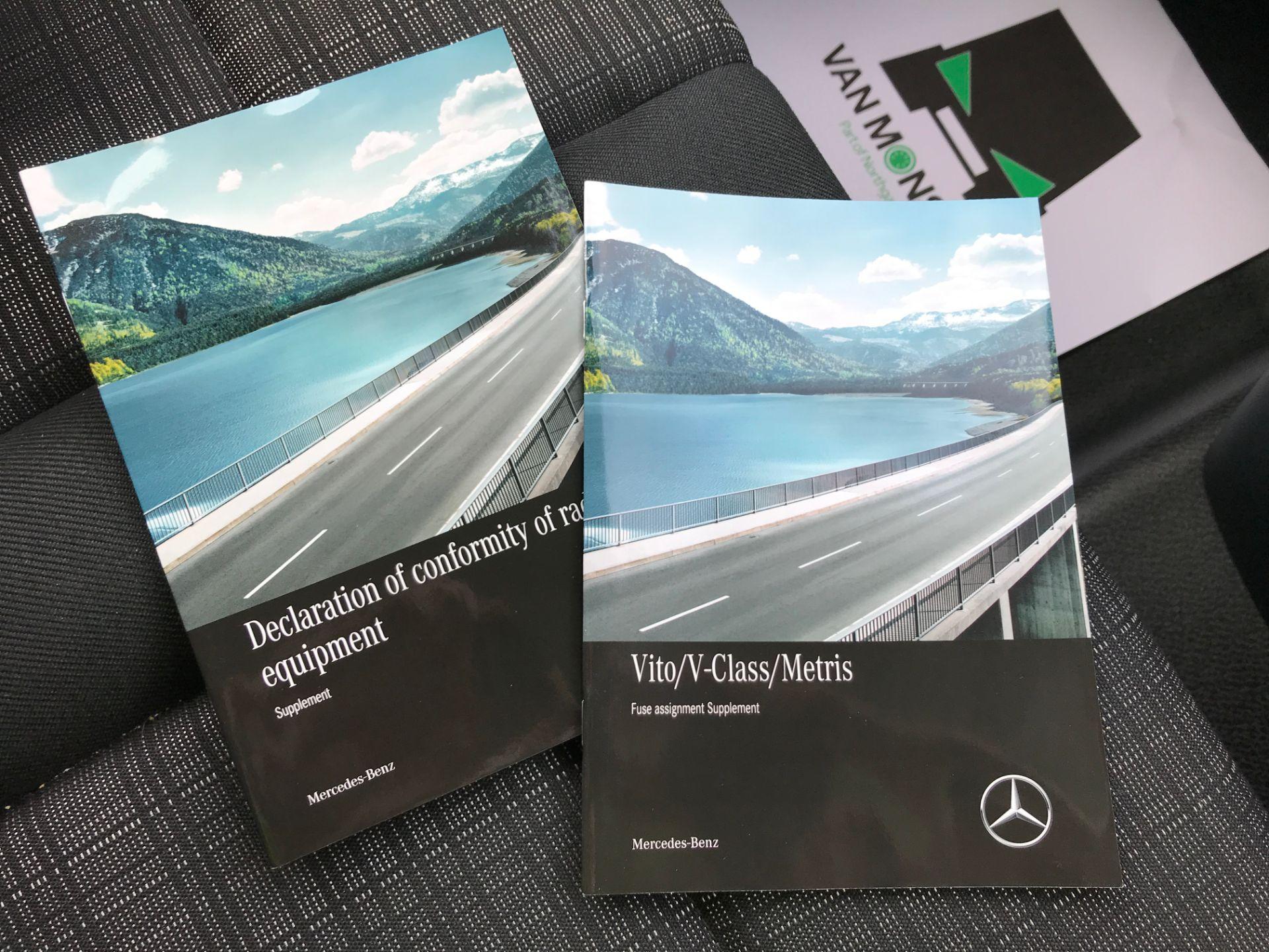 2019 Mercedes-Benz Vito 111CDI LWB 110PS EURO 6  (KO19AWC) Image 34