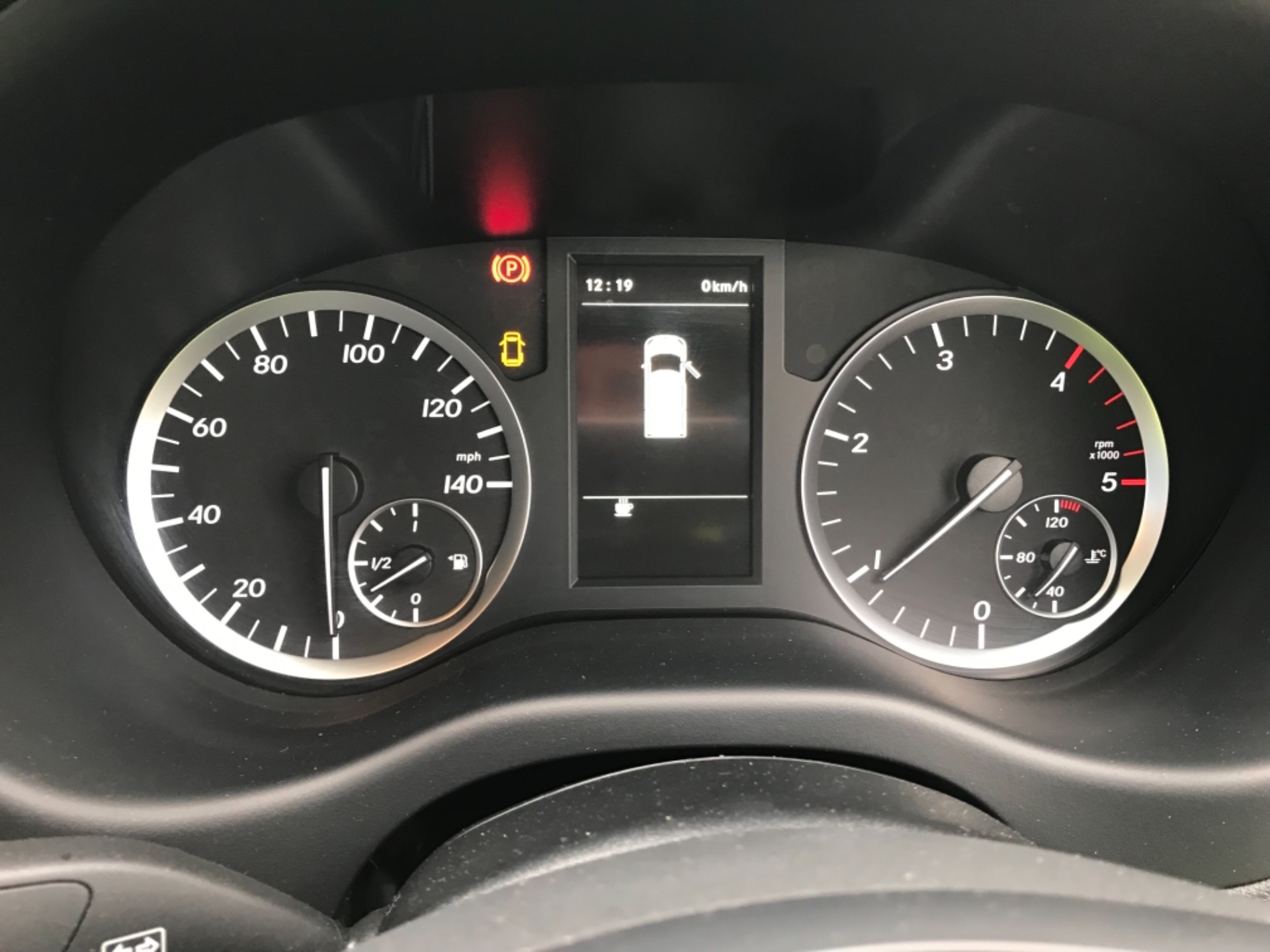 2019 Mercedes-Benz Vito LONG 111CDI VAN EURO 6  (KO19AYF) Image 17