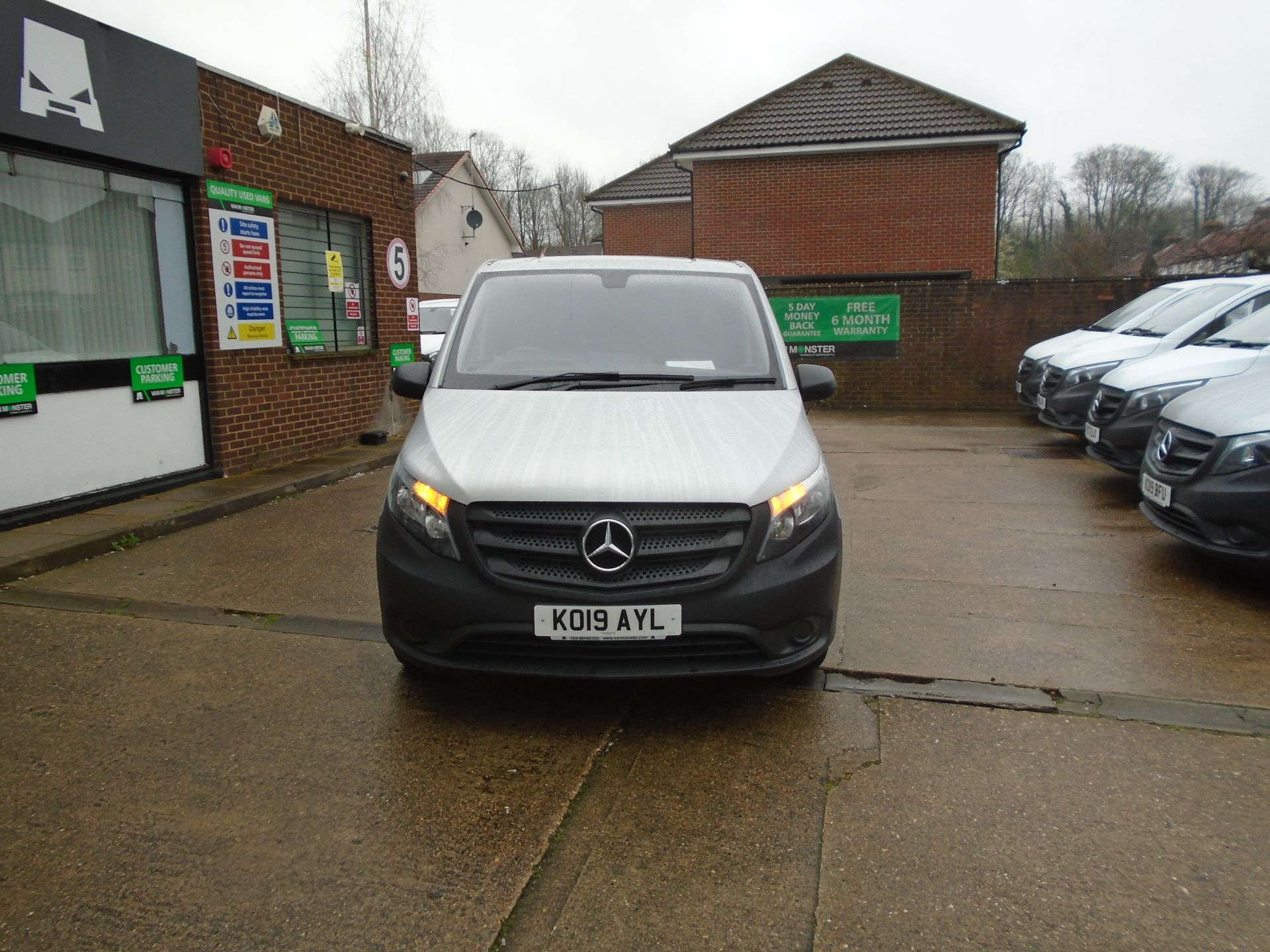 2019 Mercedes-Benz Vito 114Cdi Van (KO19AYL)