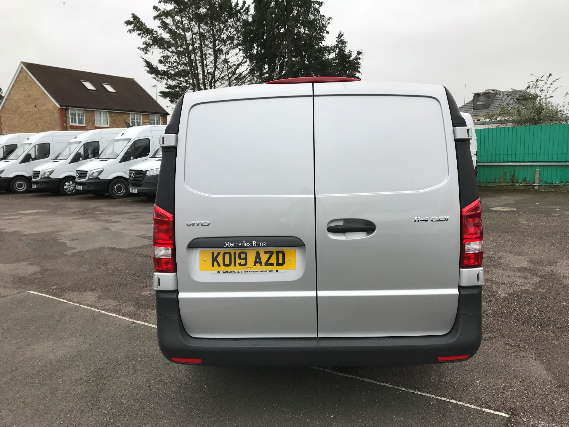 2019 Mercedes-Benz Vito  VITO 114 BLUETEC EURO 6 (KO19AZD) Image 6