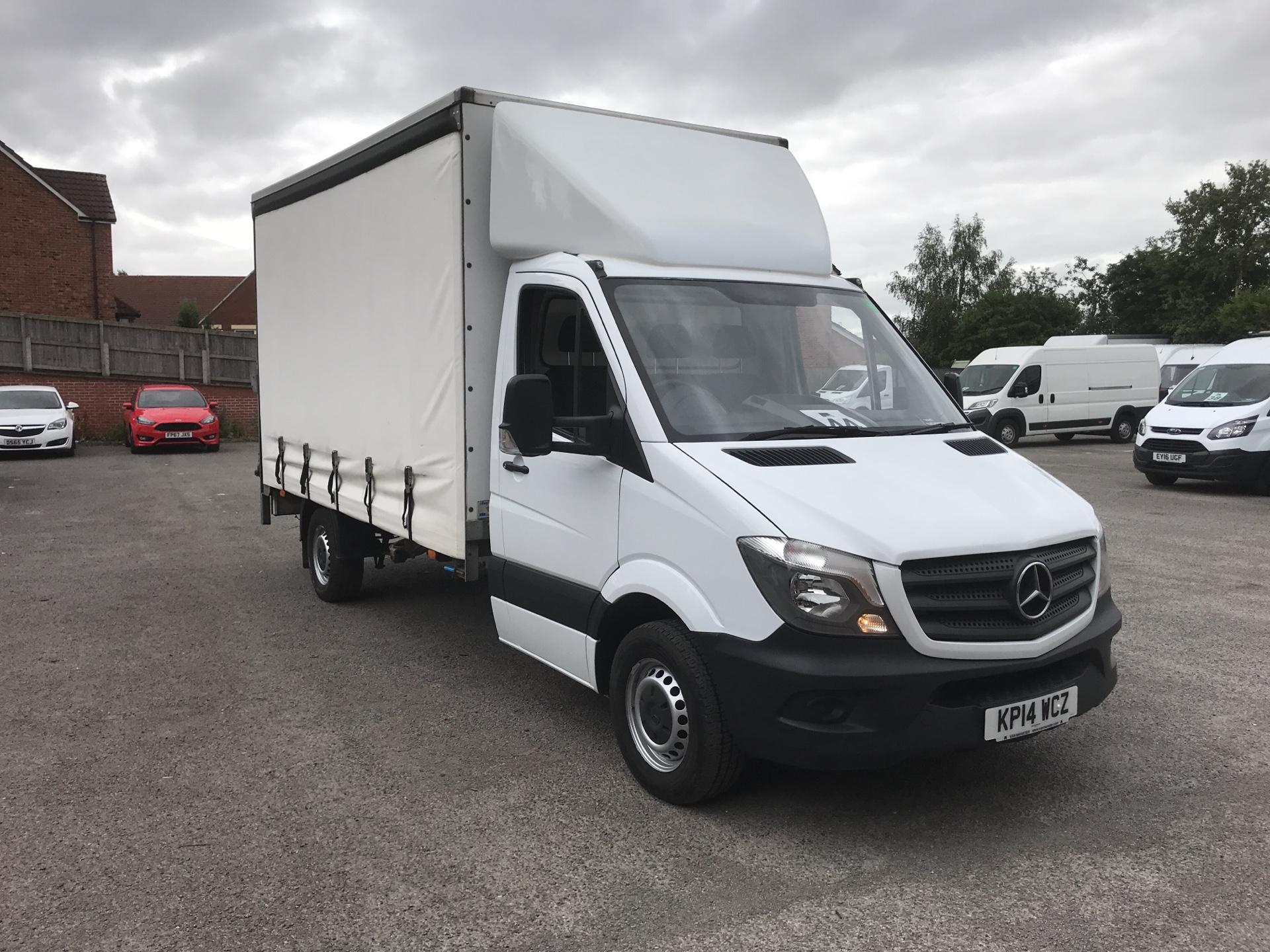 2014 Mercedes-Benz Sprinter Curtain Side With Tail Lift (KP14WCZ)