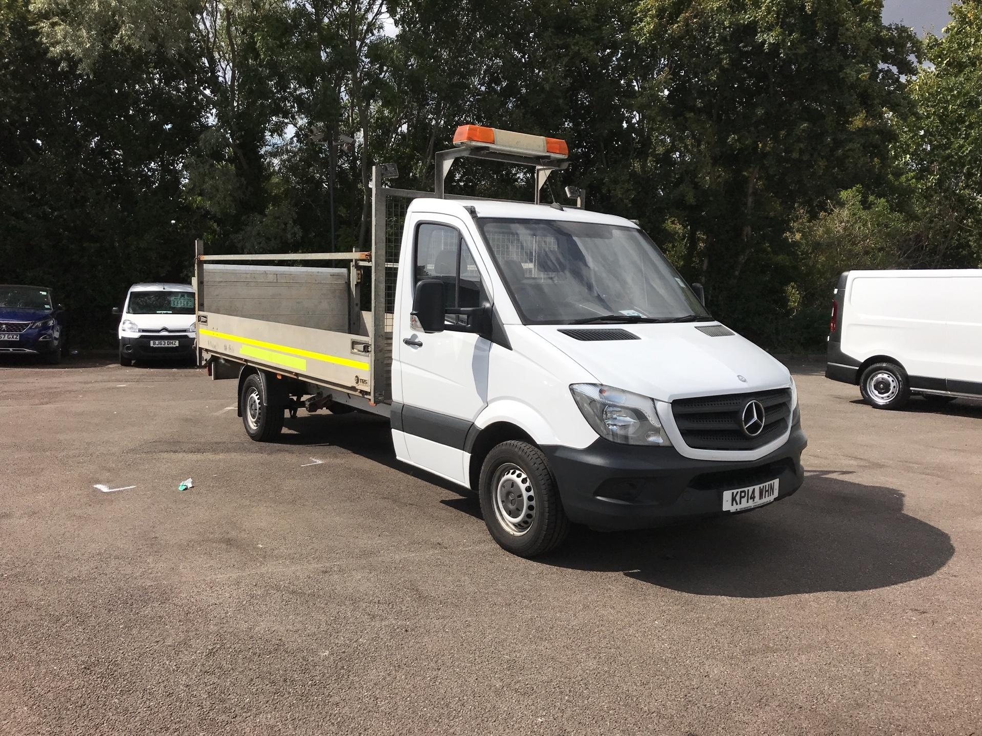 2014 Mercedes-Benz Sprinter 313 lwb Dropside 3.5T ( with Tail Lift) EURO 5 (KP14WHN)