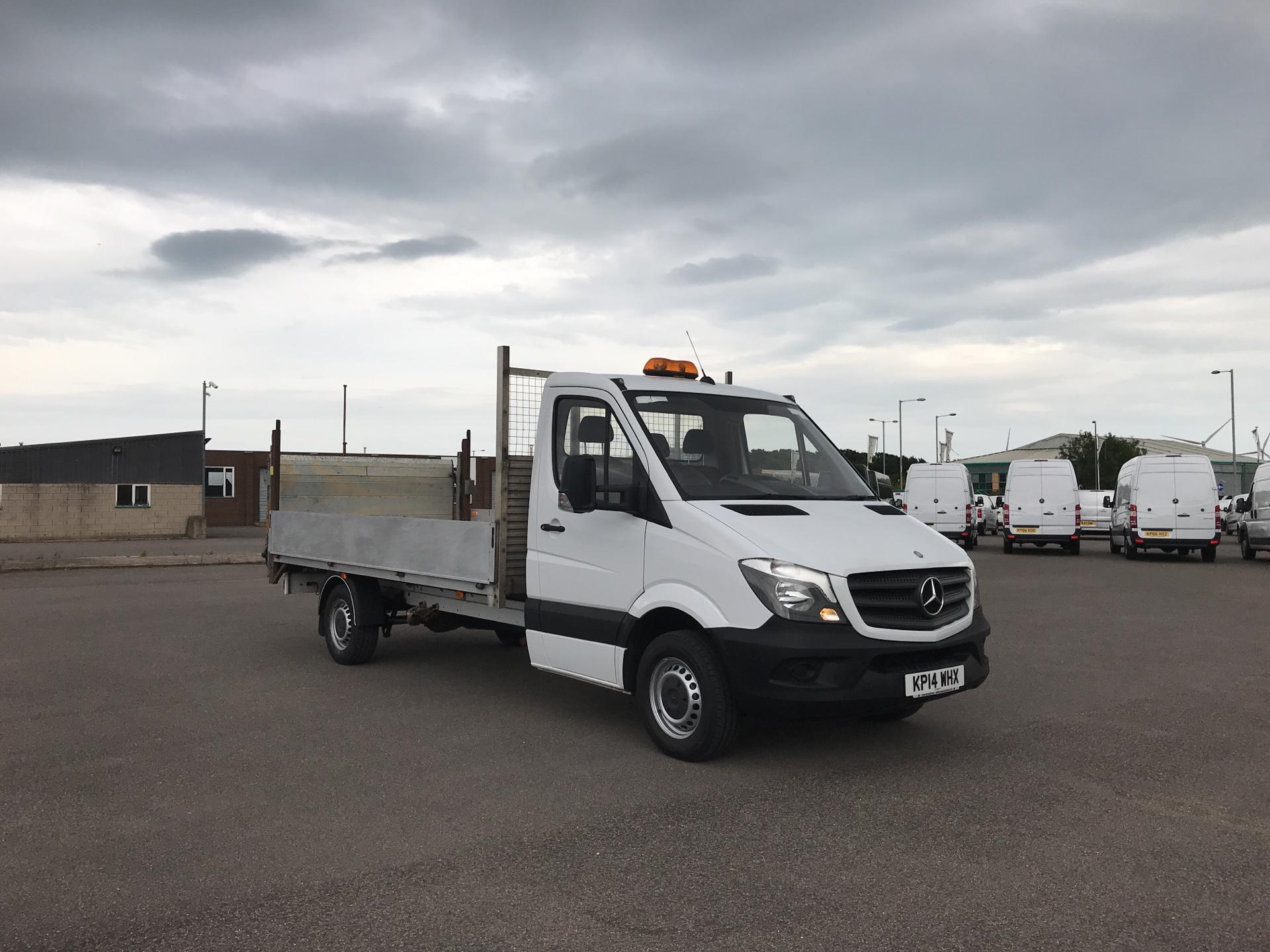 2014 Mercedes-Benz Sprinter 313 LWB DROP SIDE EURO 5 WITH TAIL LIFT (KP14WHX)