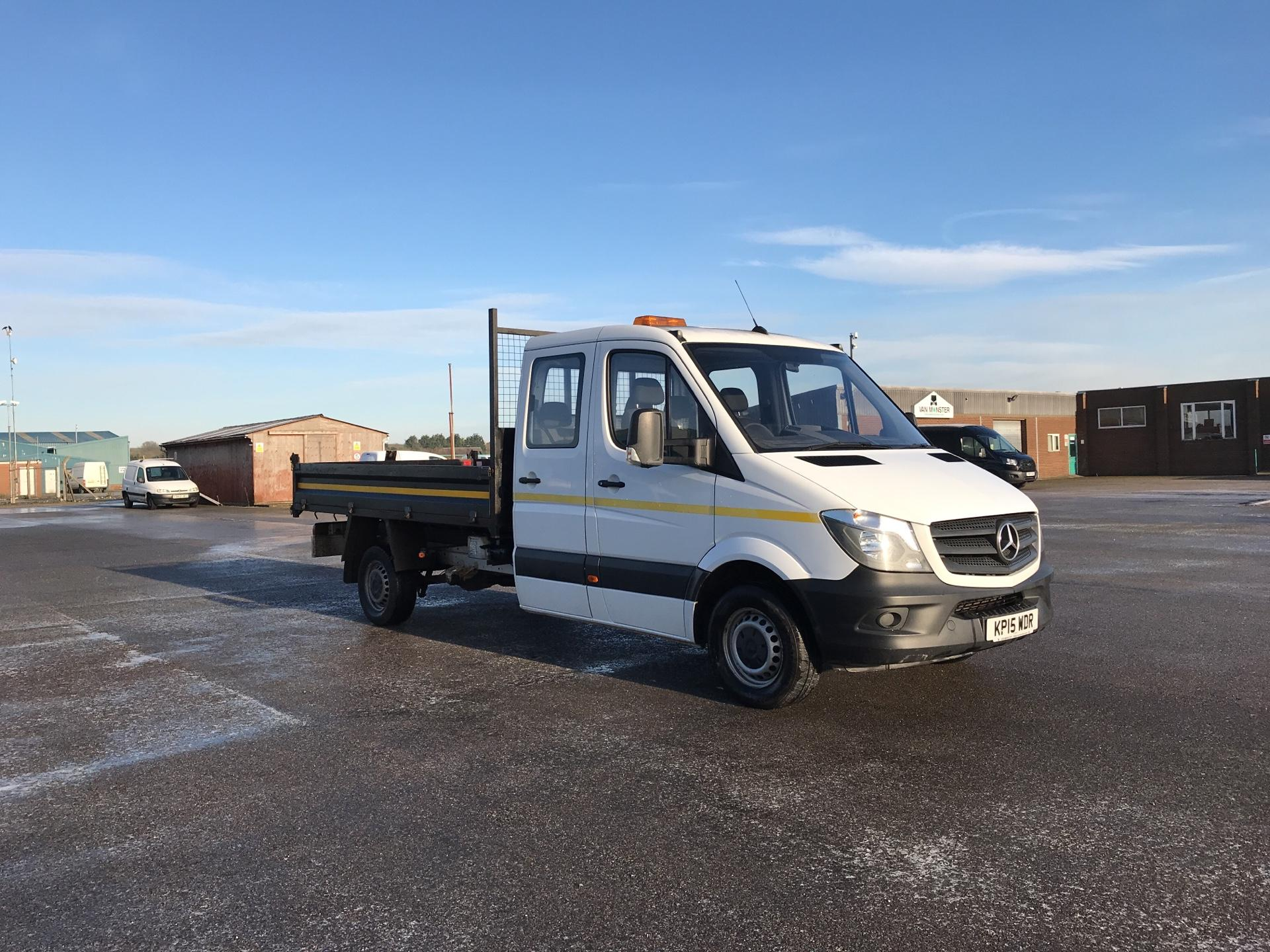 2015 Mercedes-Benz Sprinter 313 LONG CREW CAB TIPPER EURO 5. VALUE RANGE VEHICLE - CONDITION REFLECTED IN PRICE (KP15WDR)