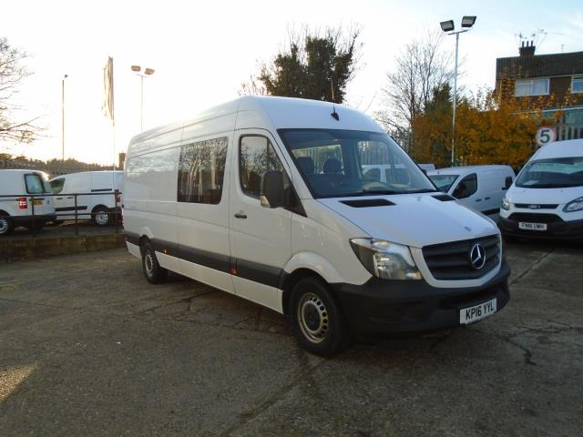 2016 Mercedes-Benz Sprinter  313CDI LWB HIGH ROOF 130PS CREW VAN EURO 5 (KP16YYL)