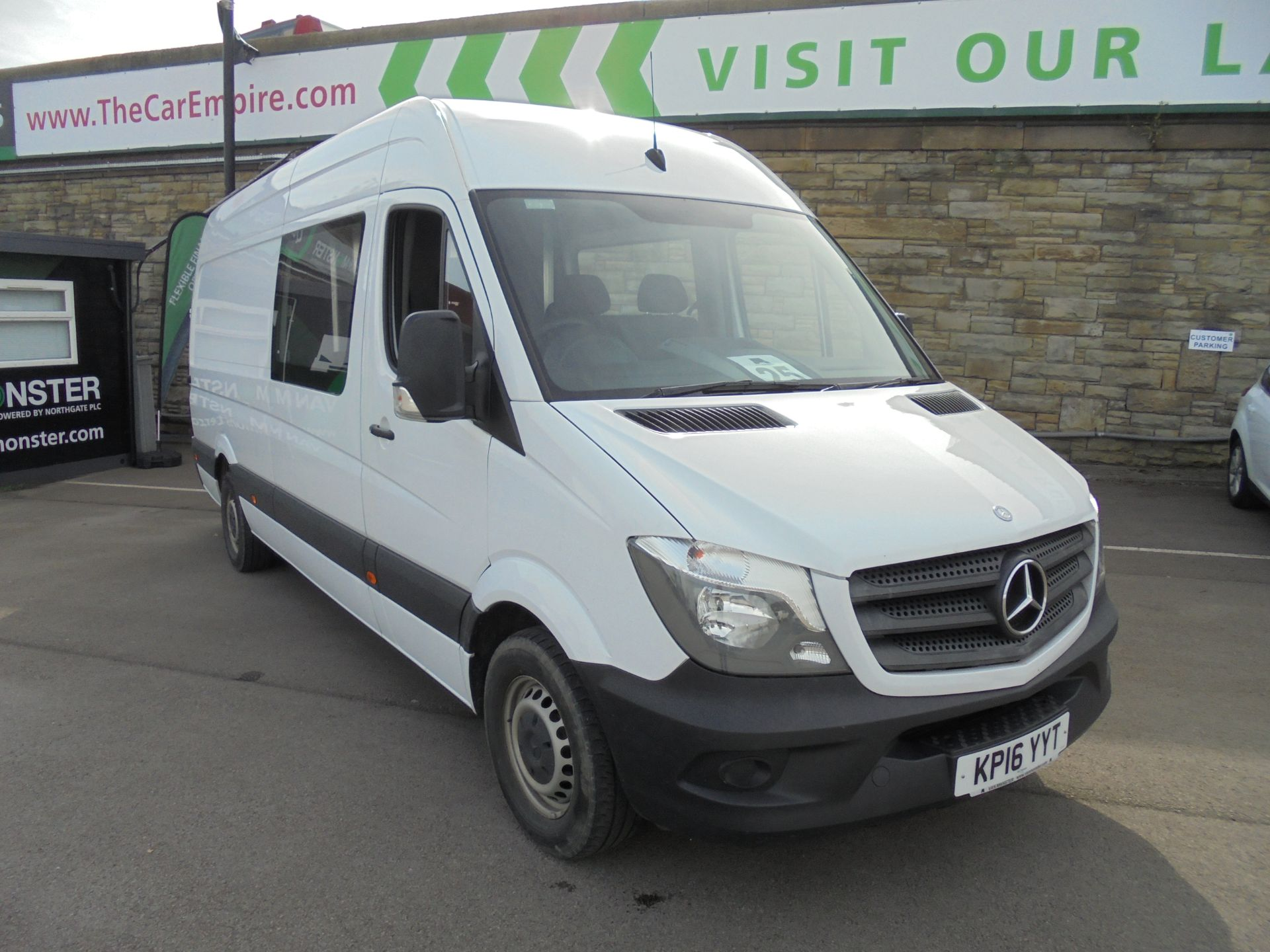 2016 Mercedes-Benz Sprinter  313 3.5T High Roof Van (KP16YYT)