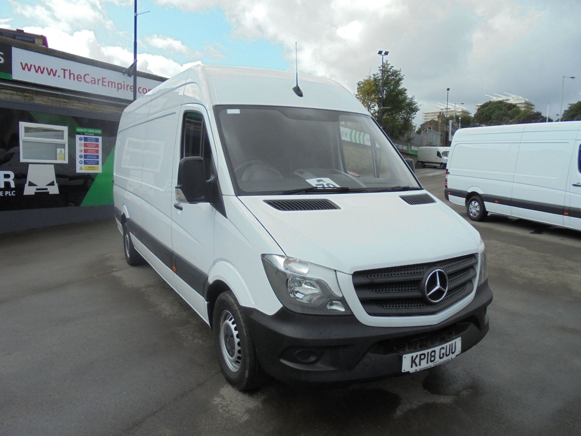 2018 Mercedes-Benz Sprinter 3.5T High Roof Van (KP18GUU)