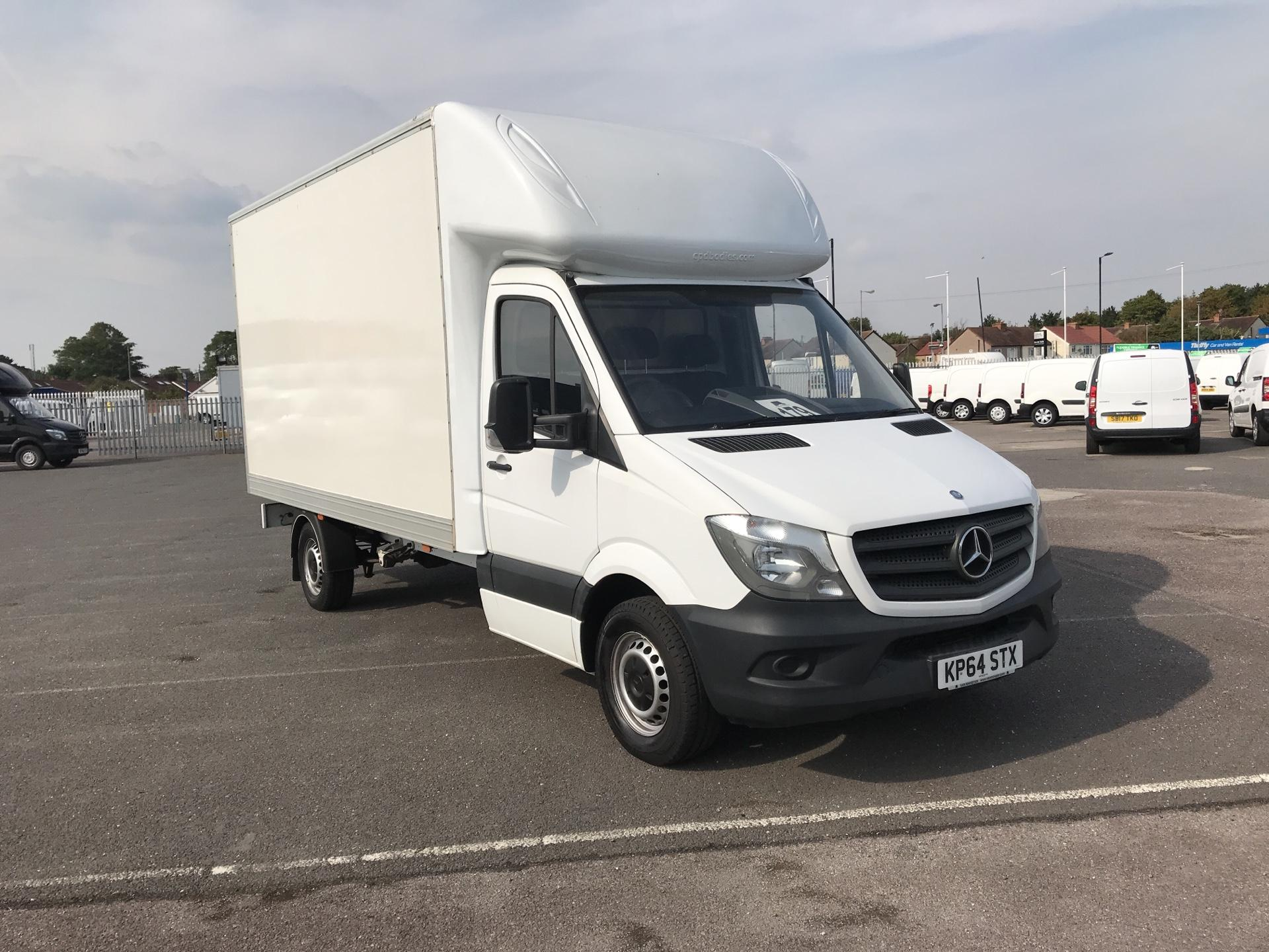 2014 Mercedes-Benz Sprinter 313 LWB LONG LUTON EURO 5 (KP64STX)