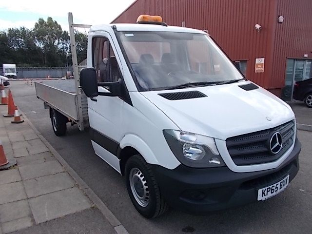 2015 Mercedes-Benz Sprinter  313 LWB DROP SIDE EURO 5 (KP65BXW)