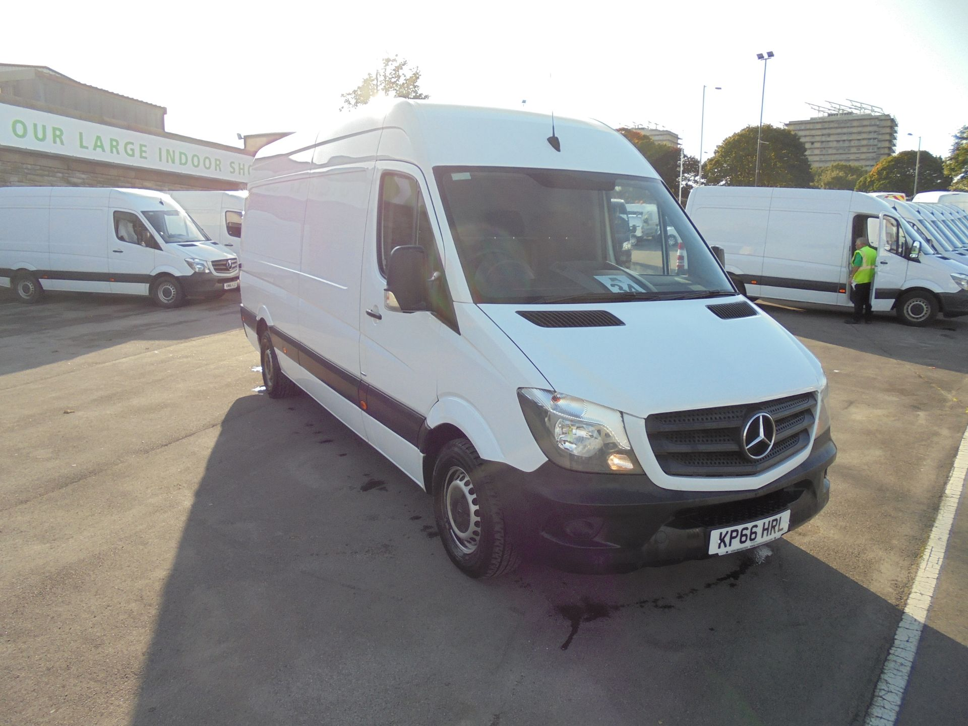 2016 Mercedes-Benz Sprinter 3.5T High Roof Van (KP66HRL)