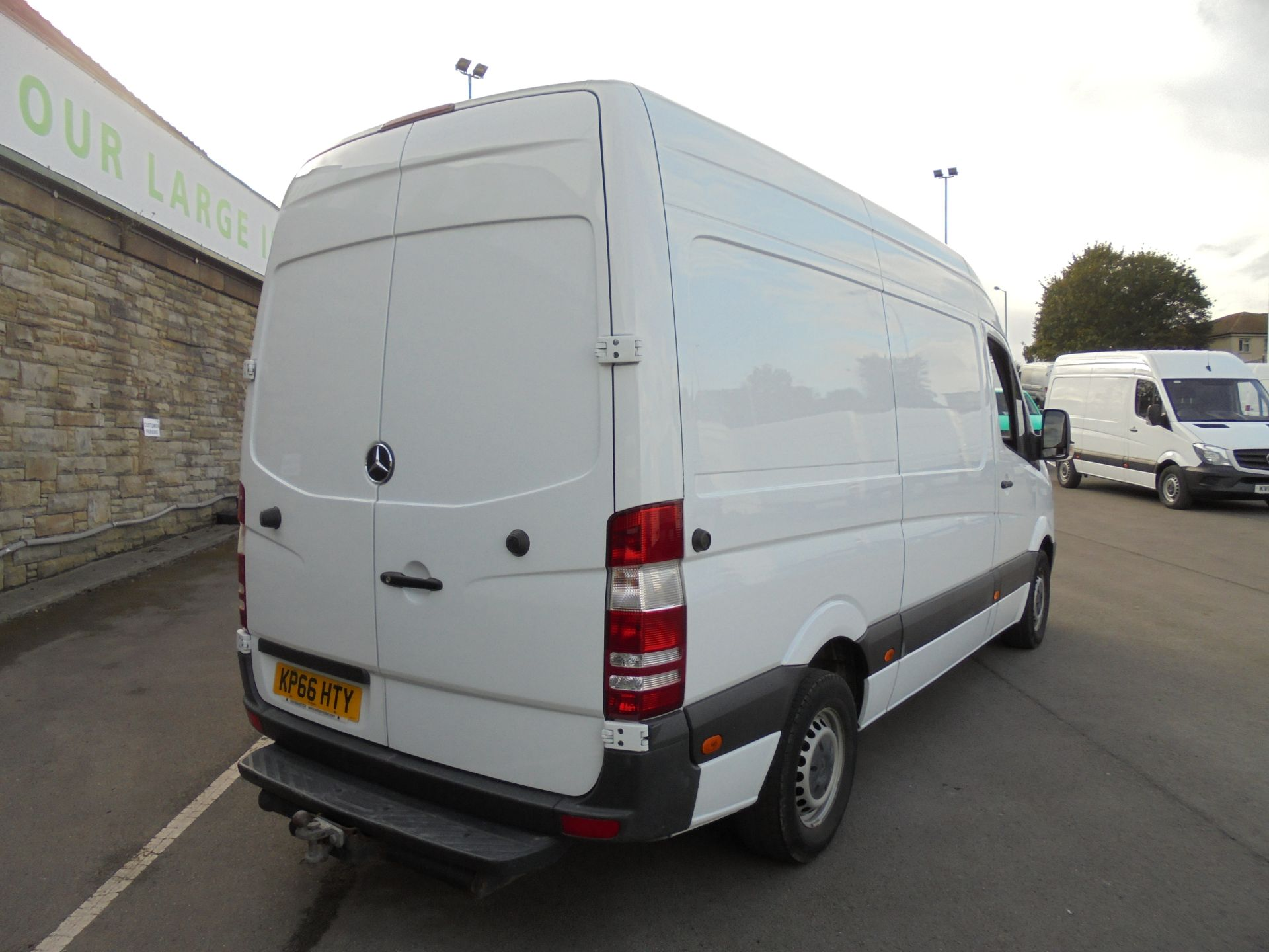 2016 Mercedes-Benz Sprinter 3.5T High Roof Van MWB (KP66HTY) Image 7