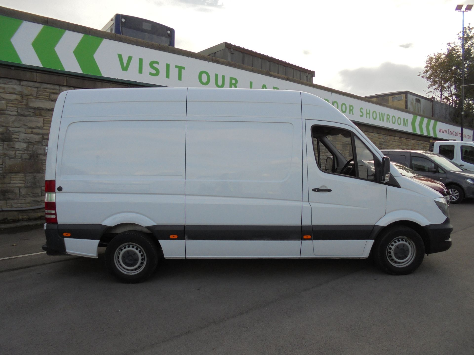 2016 Mercedes-Benz Sprinter 3.5T High Roof Van MWB (KP66HTY) Image 8