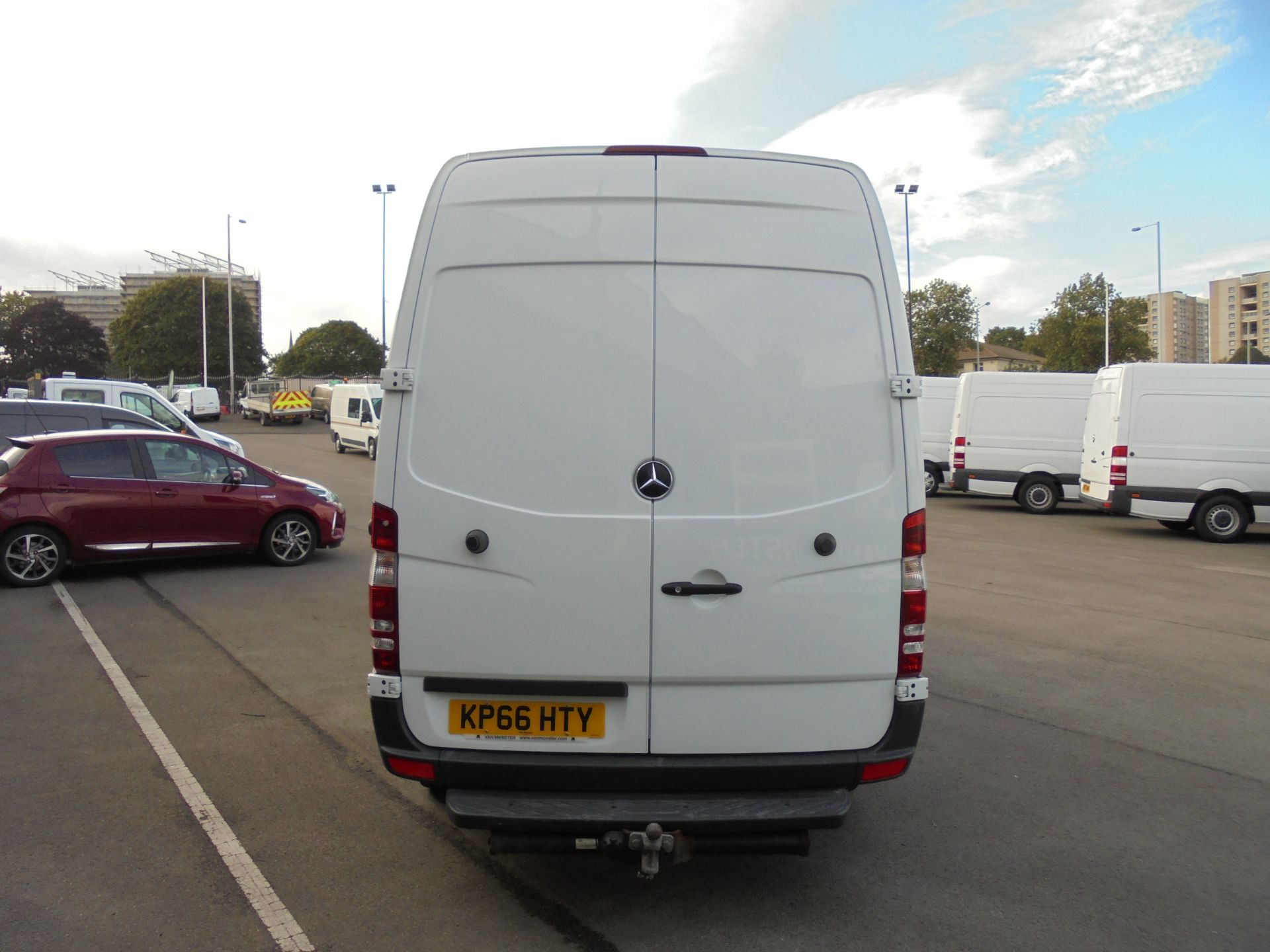 2016 Mercedes-Benz Sprinter 3.5T High Roof Van MWB (KP66HTY) Thumbnail 6