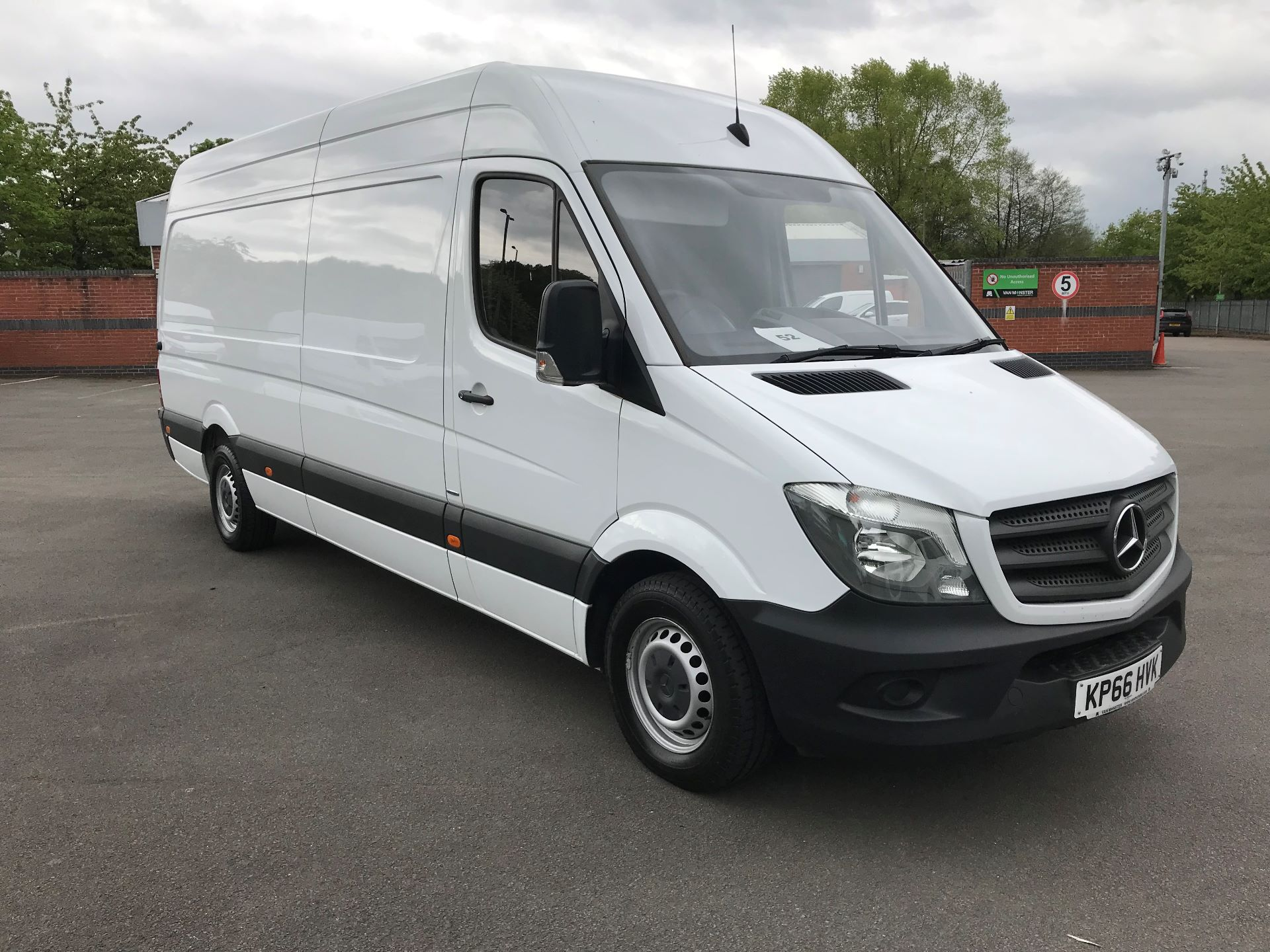 2016 Mercedes-Benz Sprinter 3.5T High Roof Van (KP66HVK)