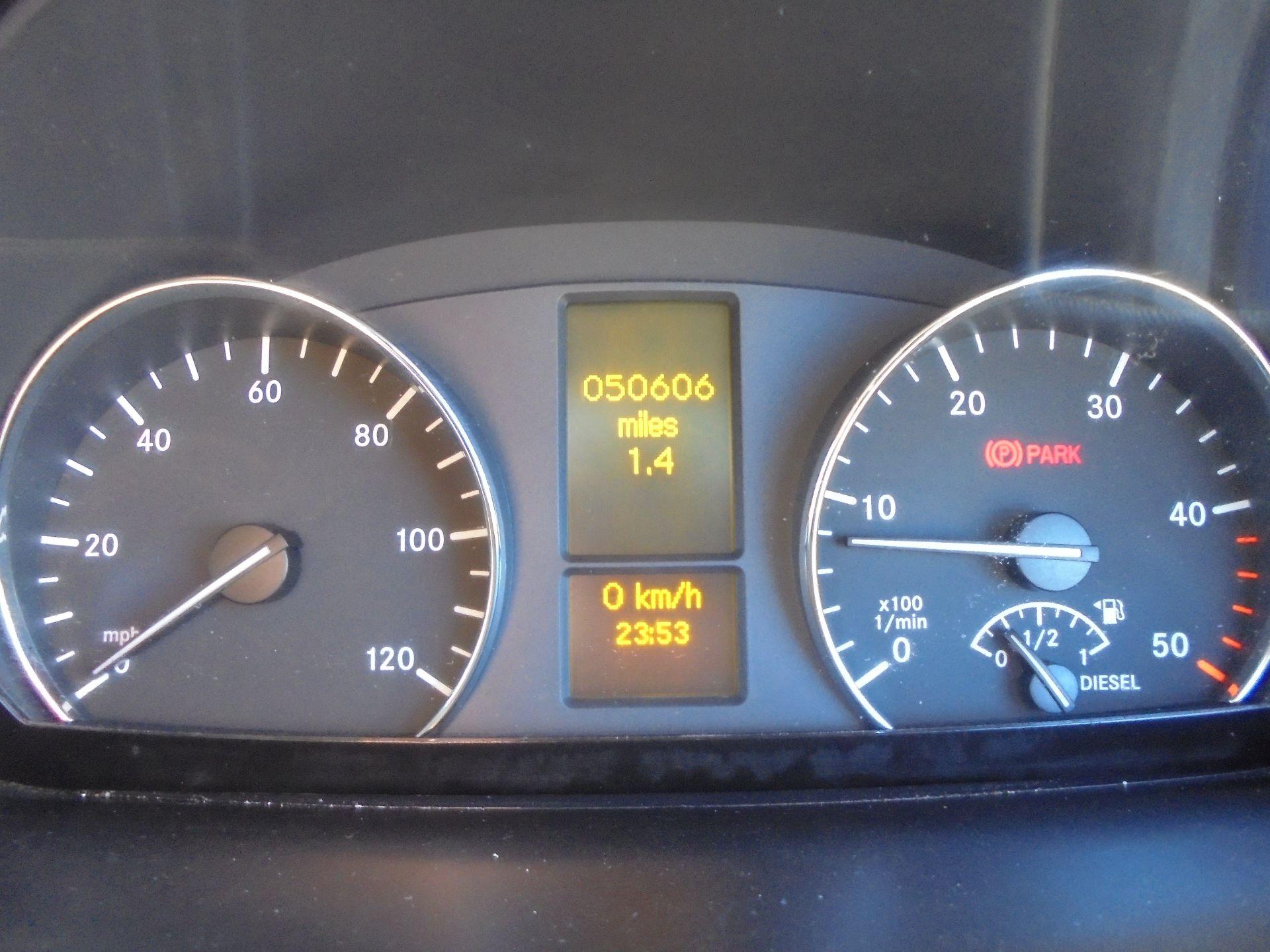 2016 Mercedes-Benz Sprinter 314 MWB H/R VAN EURO 6 (KP66HWC) Image 11