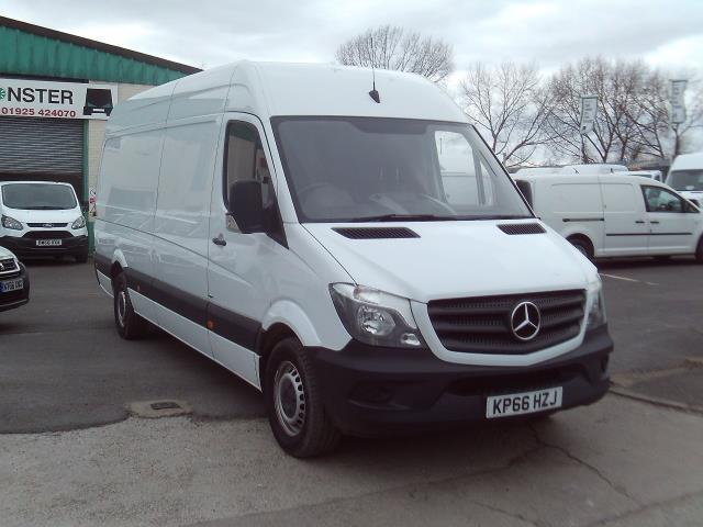 2016 Mercedes-Benz Sprinter 314cdi lwb High Roof 140ps New Shape (KP66HZJ)