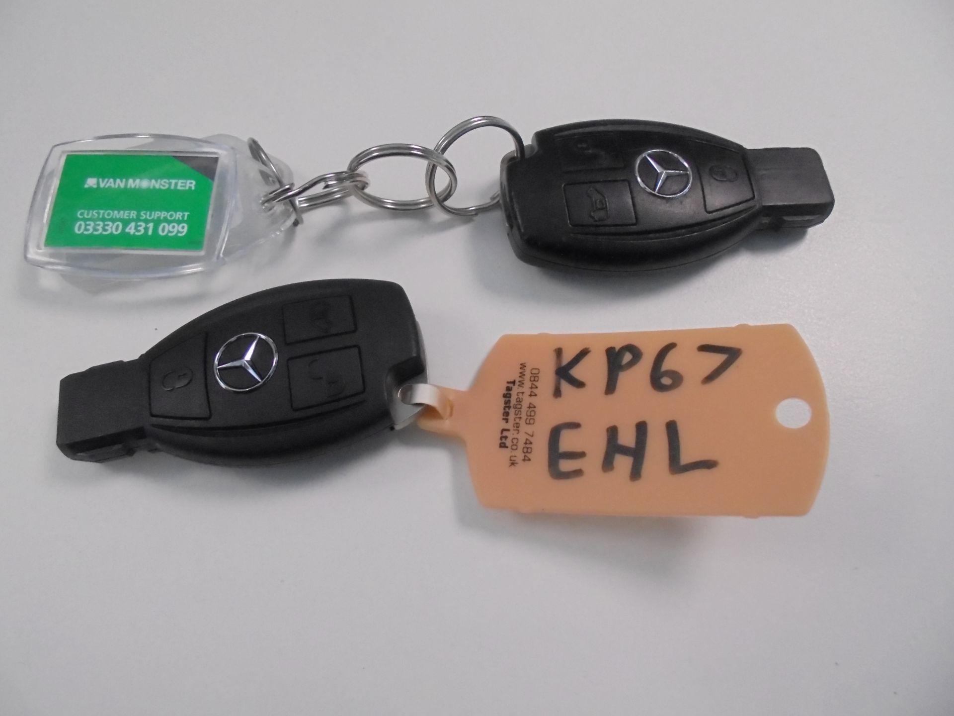 2017 Mercedes-Benz Vito LONG 111 CDI VAN EURO 6 (KP67EHL) Image 28