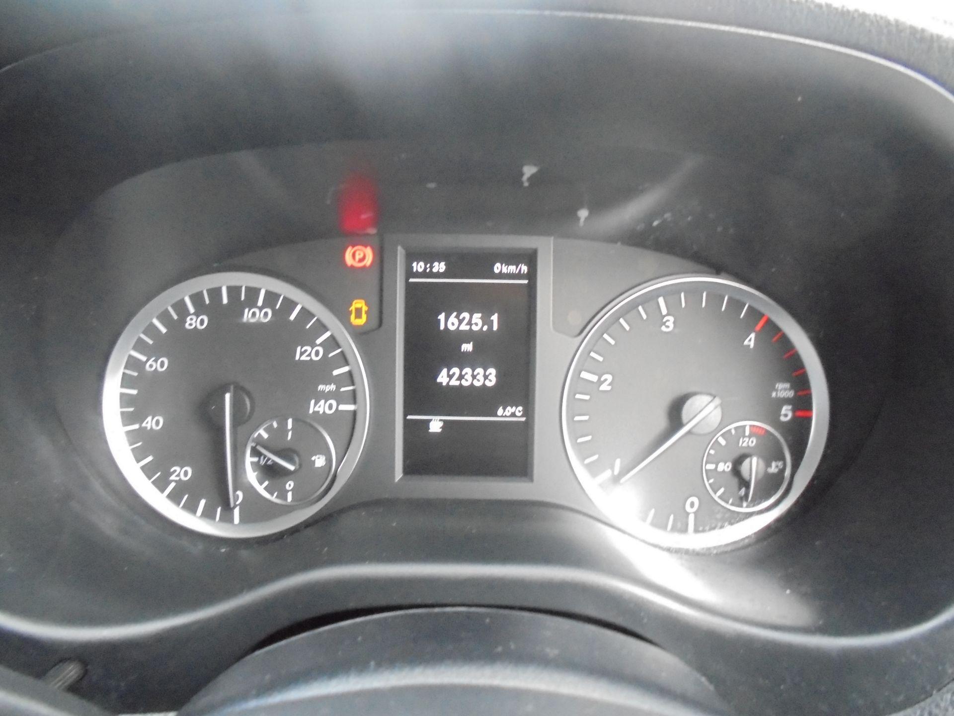 2017 Mercedes-Benz Vito LONG 111 CDI VAN EURO 6 (KP67EHL) Image 13