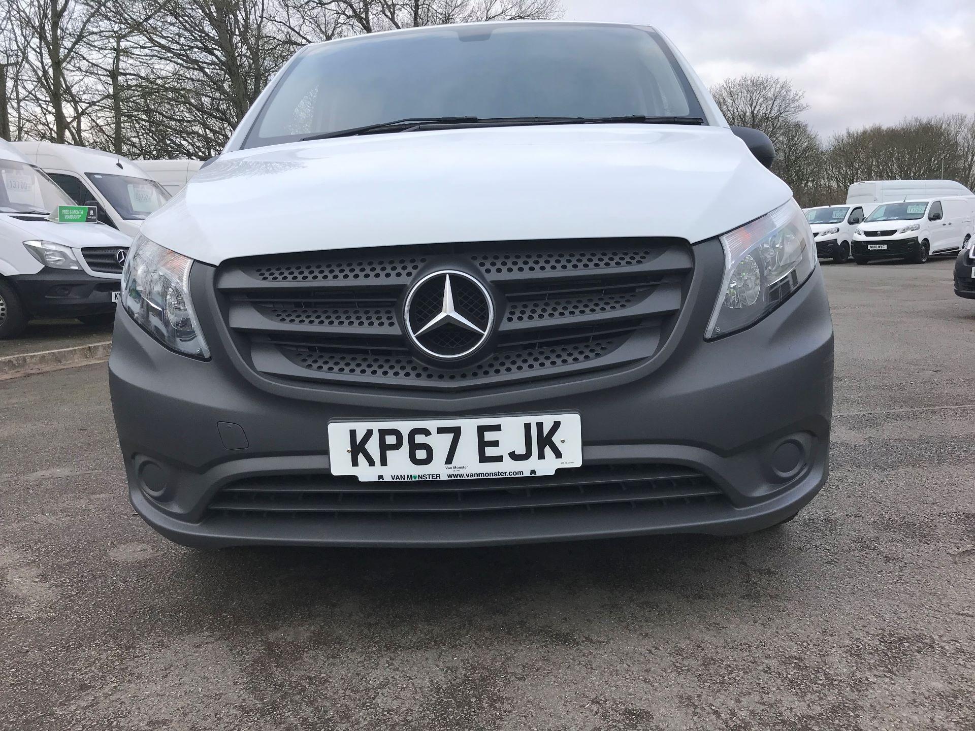 2017 Mercedes-Benz Vito LONG 111CDI VAN EURO 6 (KP67EJK) Image 10