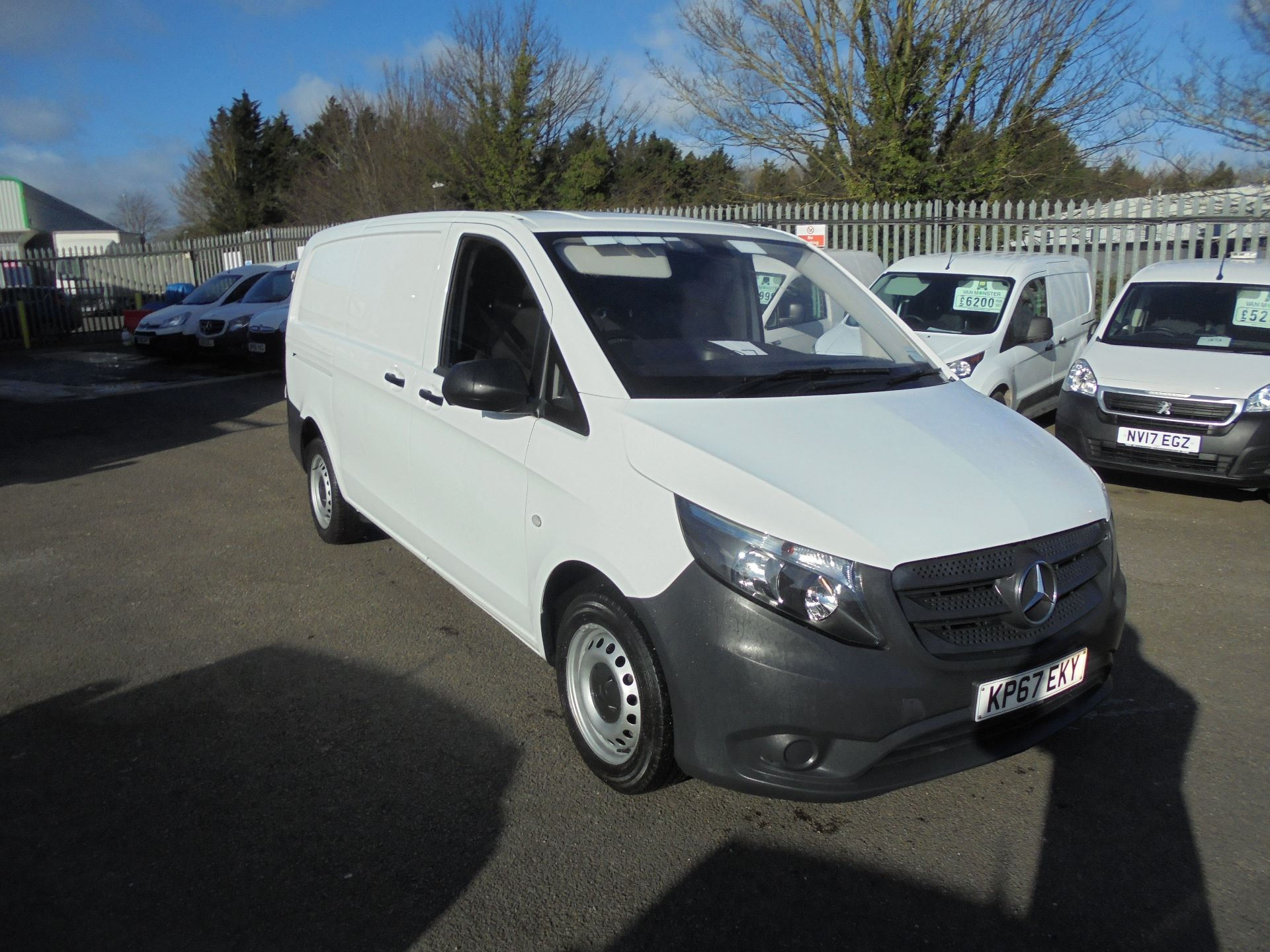 2017 Mercedes-Benz Vito LONG 111CDI VAN EURO 6