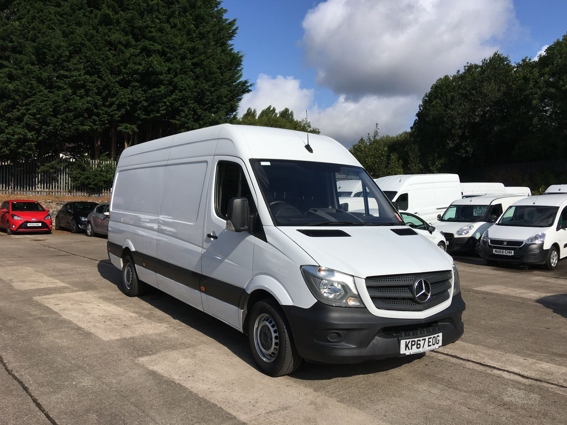 2017 Mercedes-Benz Sprinter 314 CDI LWB HIGH ROOF VAN EURO 6 (KP67EOG) Thumbnail 1
