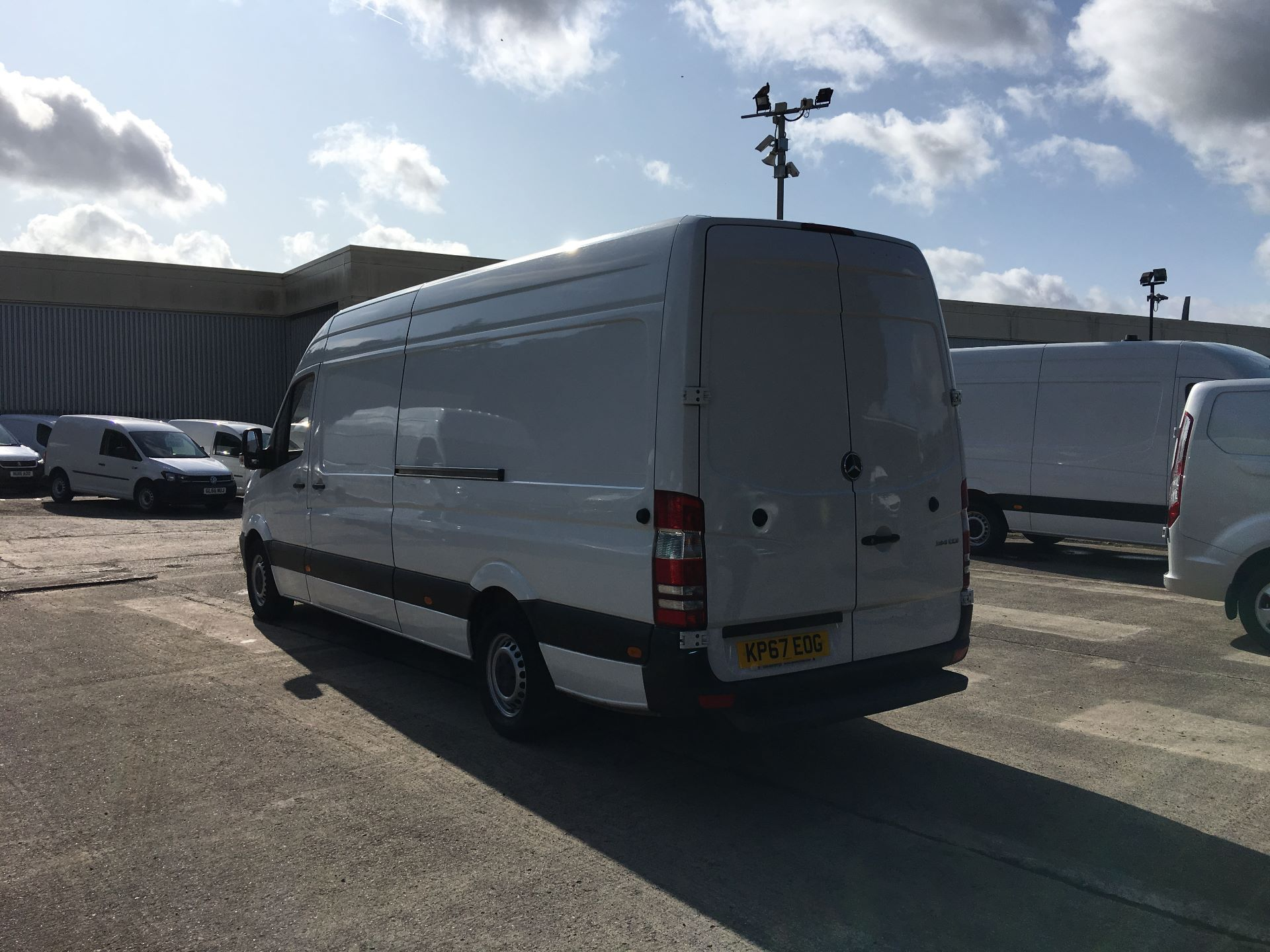 2017 Mercedes-Benz Sprinter 314 CDI LWB HIGH ROOF VAN EURO 6 (KP67EOG) Image 12