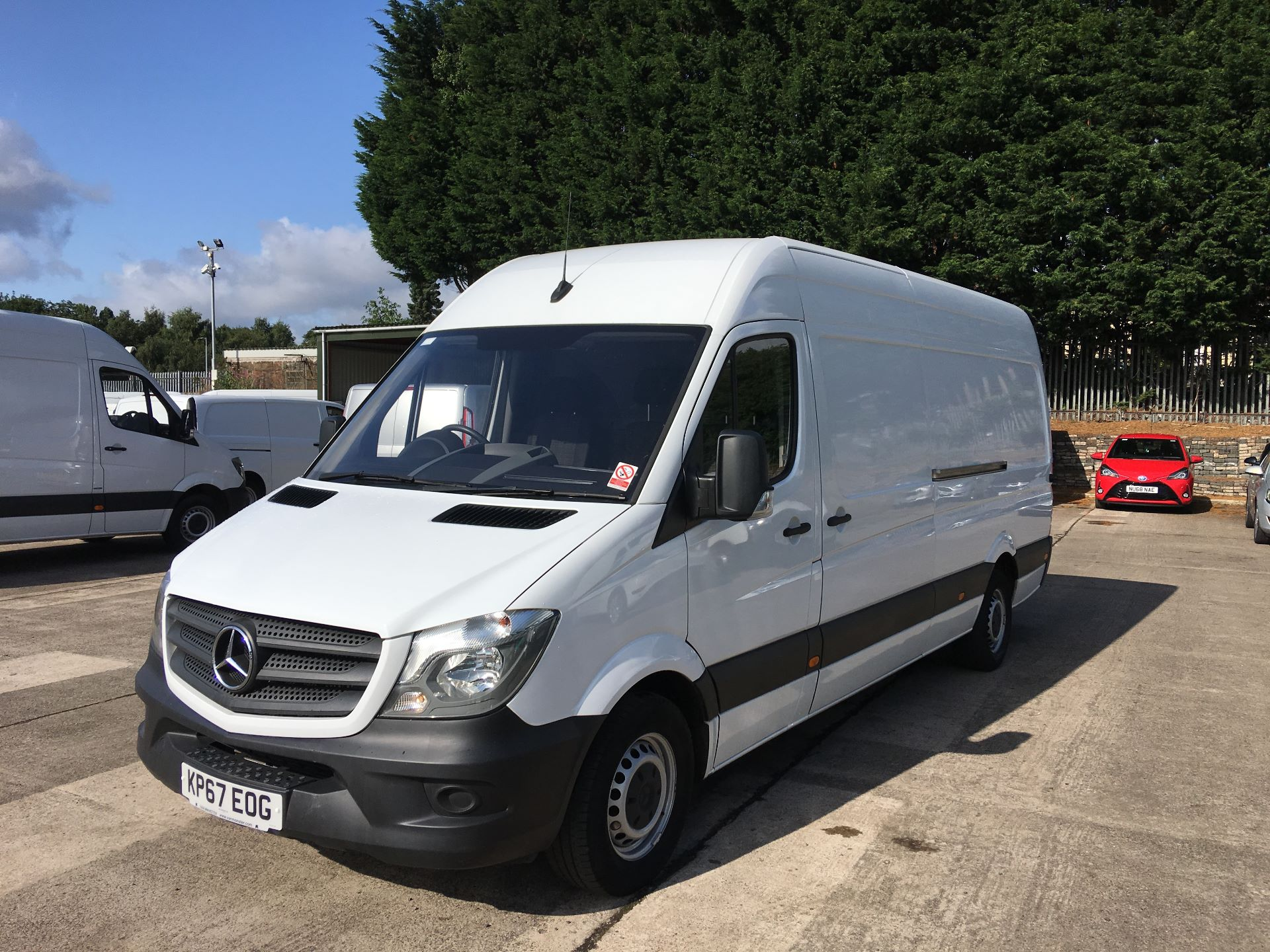2017 Mercedes-Benz Sprinter 314 CDI LWB HIGH ROOF VAN EURO 6 (KP67EOG) Image 15